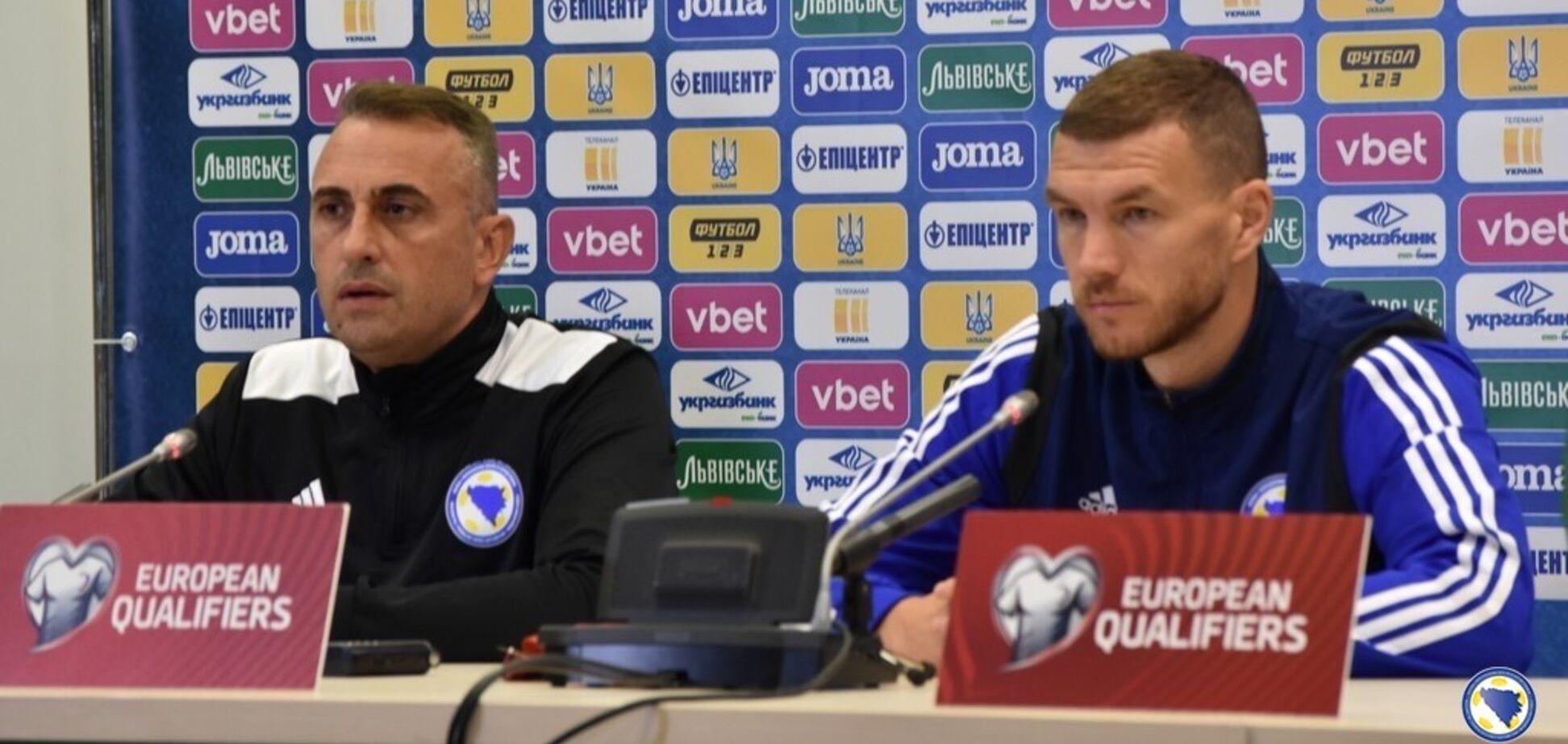 Лідер боснійців відреагував на те, що Шевченко пішов зі збірної України