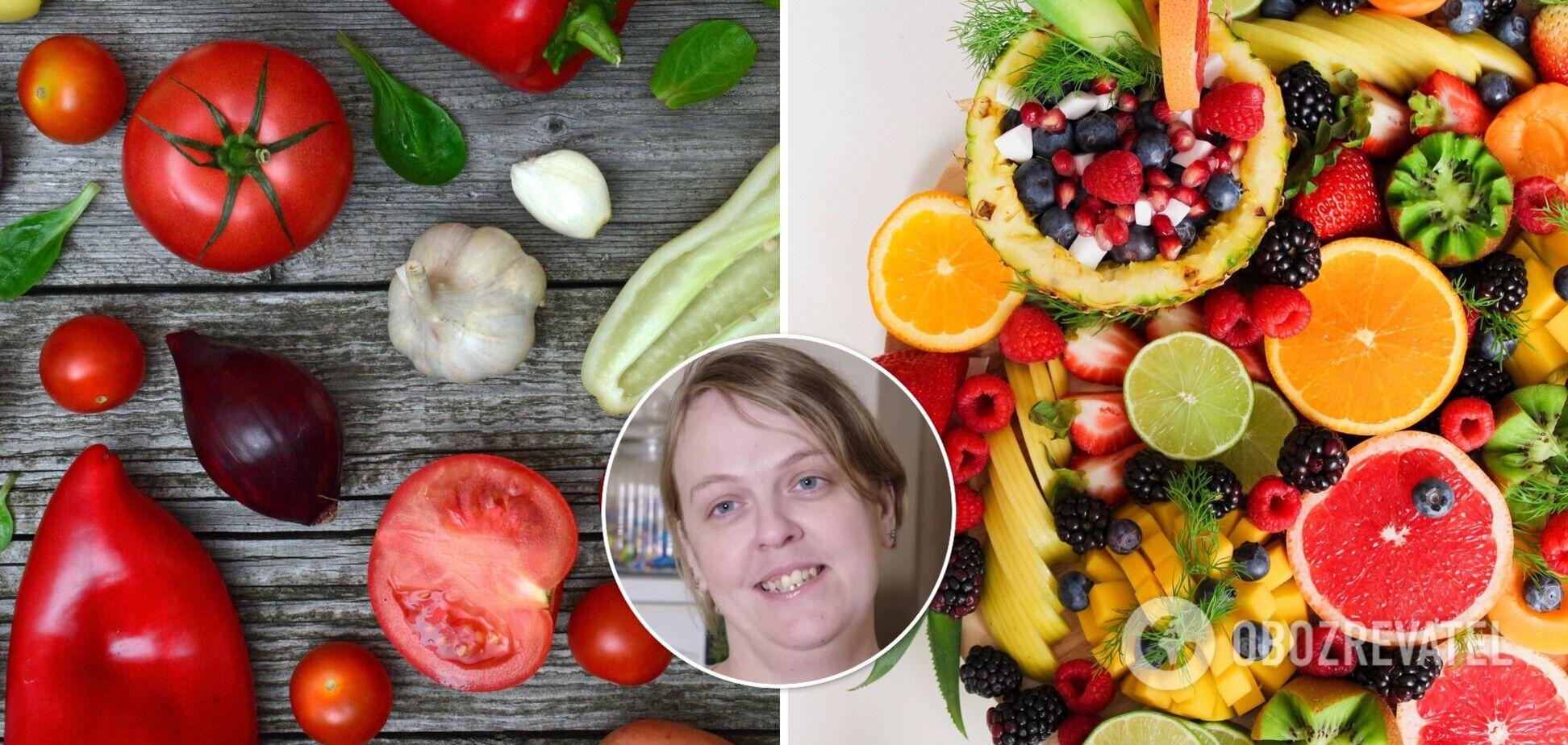 Британка не їла овочі та фрукти 30 років