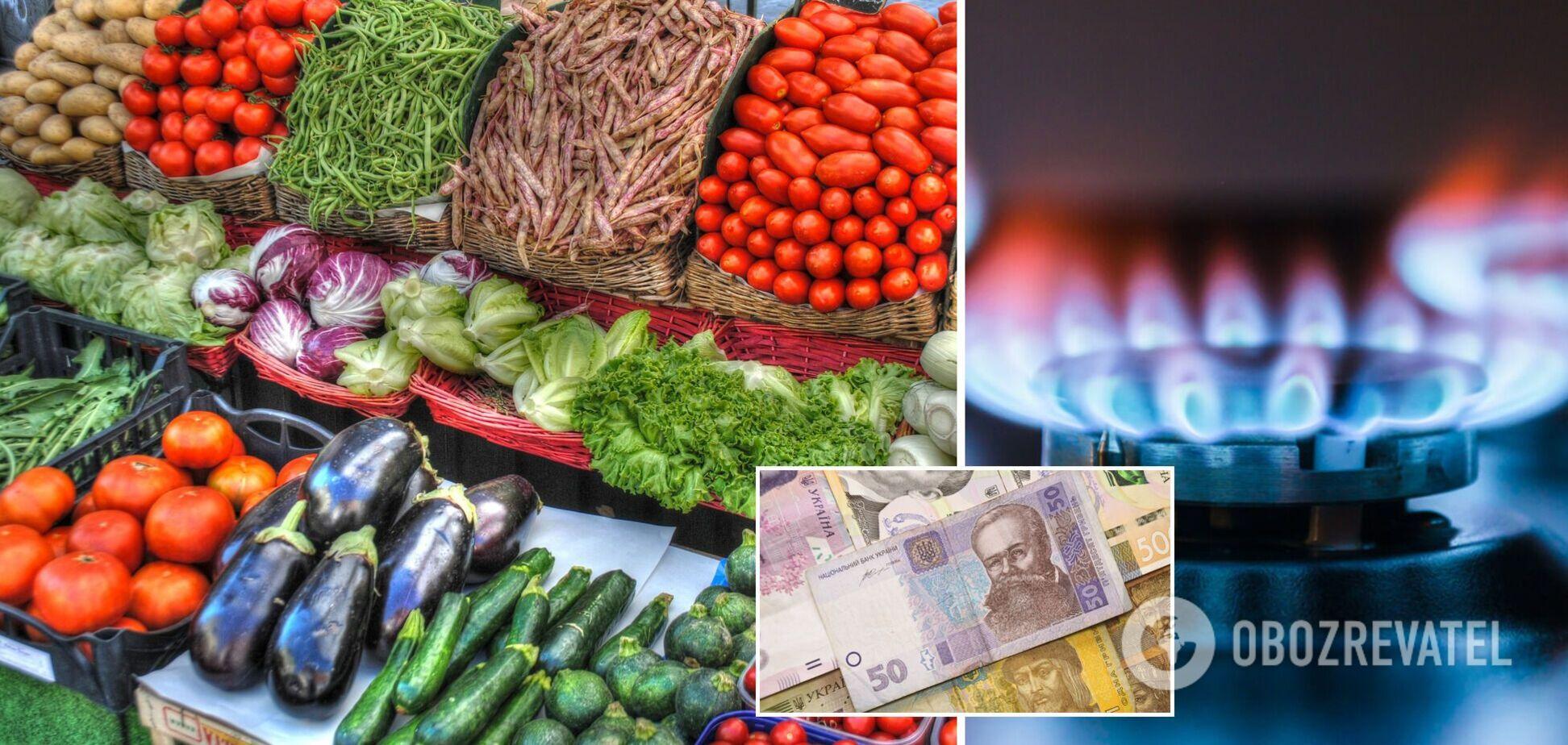 Ціни на овочі в Україні у 2022-му злетять через дорогий газ
