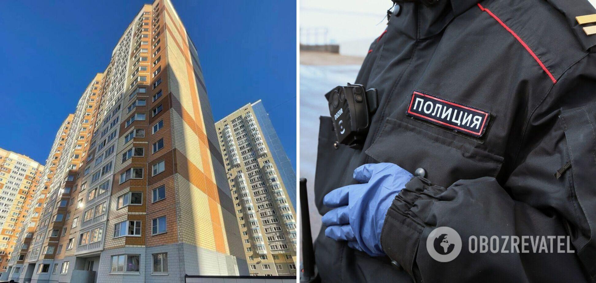 У Росії жінка вистрибнула з вікна багатоповерхівки з двома маленькими дітьми: всі загинули