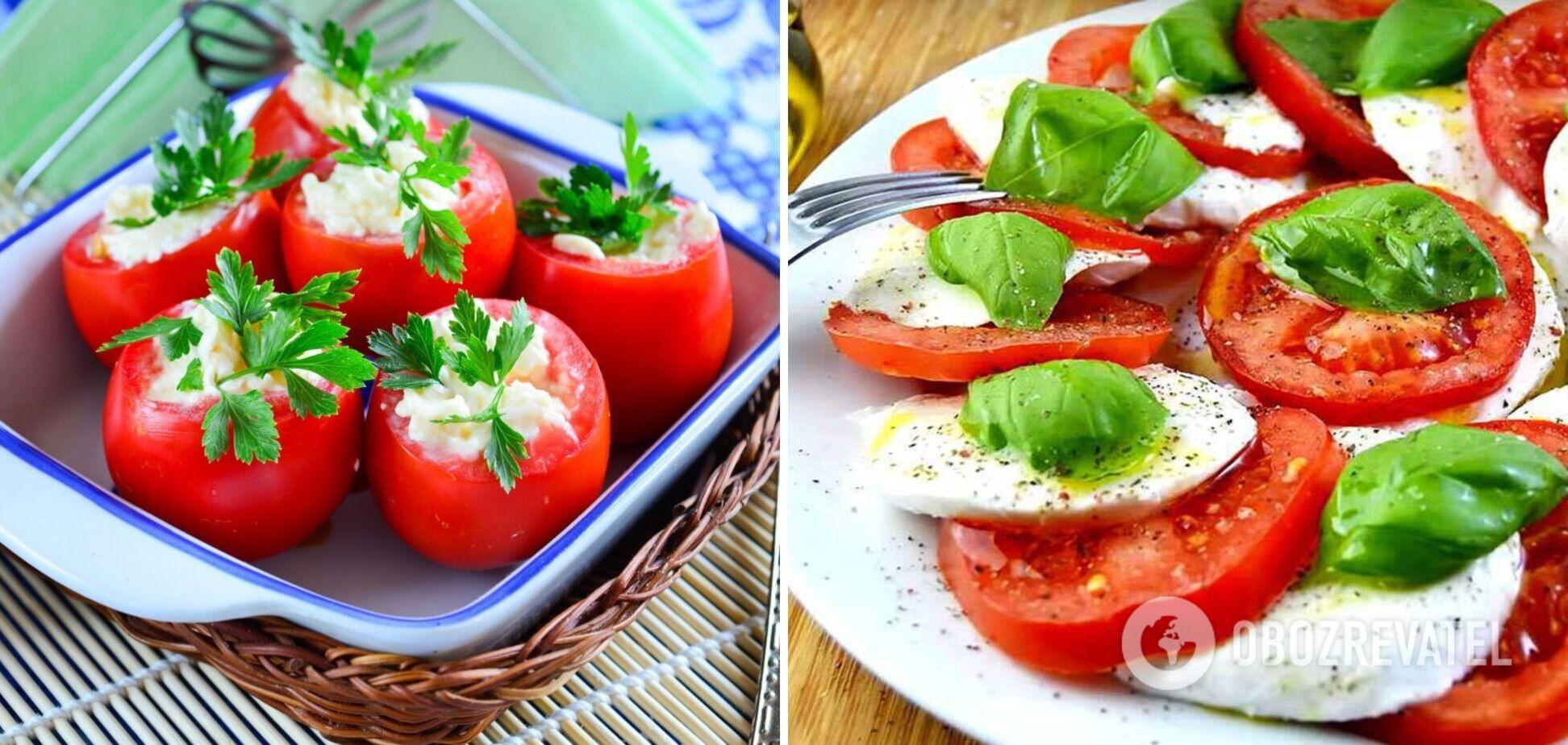 Як приготувати помідори по-новому: варіанти швидких закусок