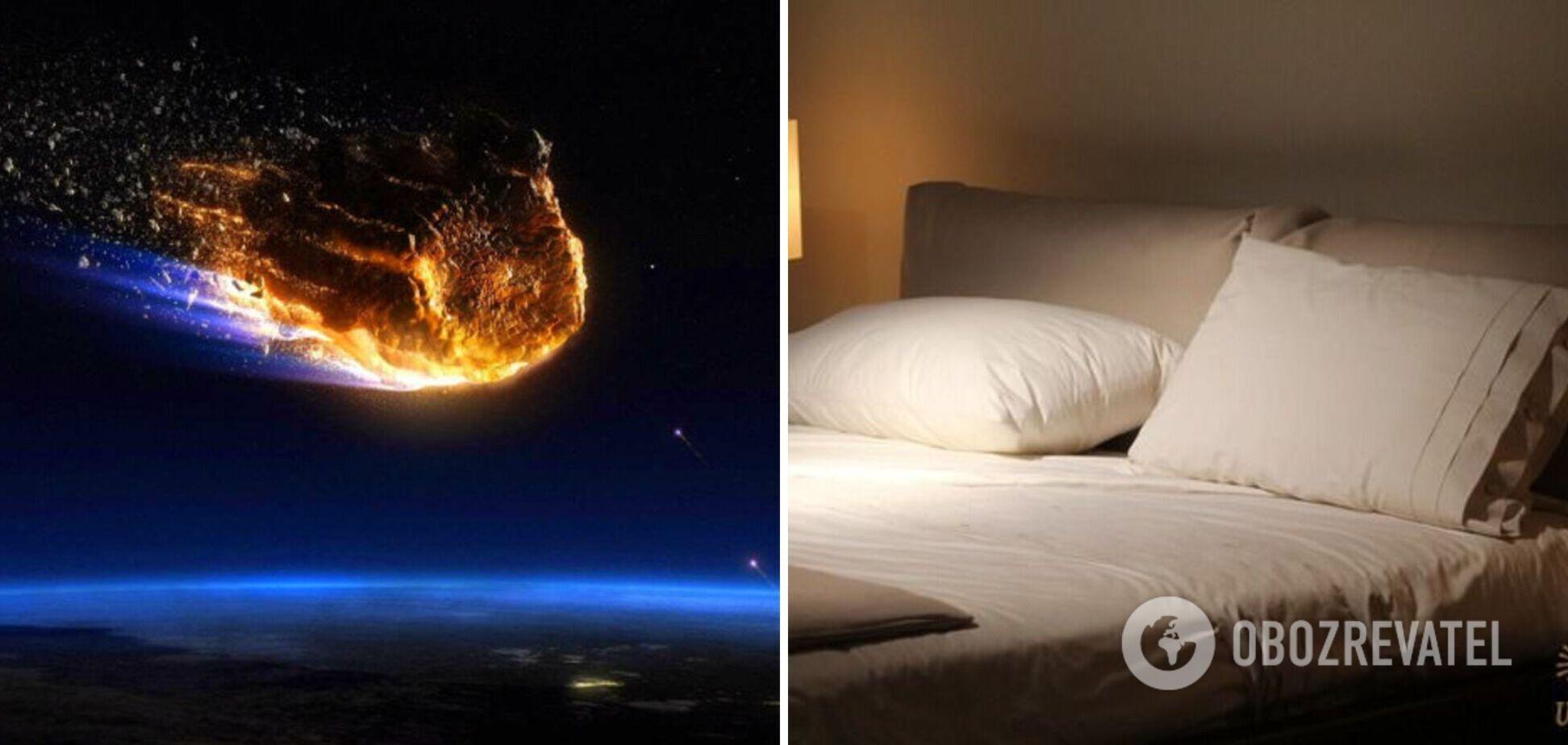 У Канаді метеорит проломив дах і впав на ліжко сплячої жінки. Фото