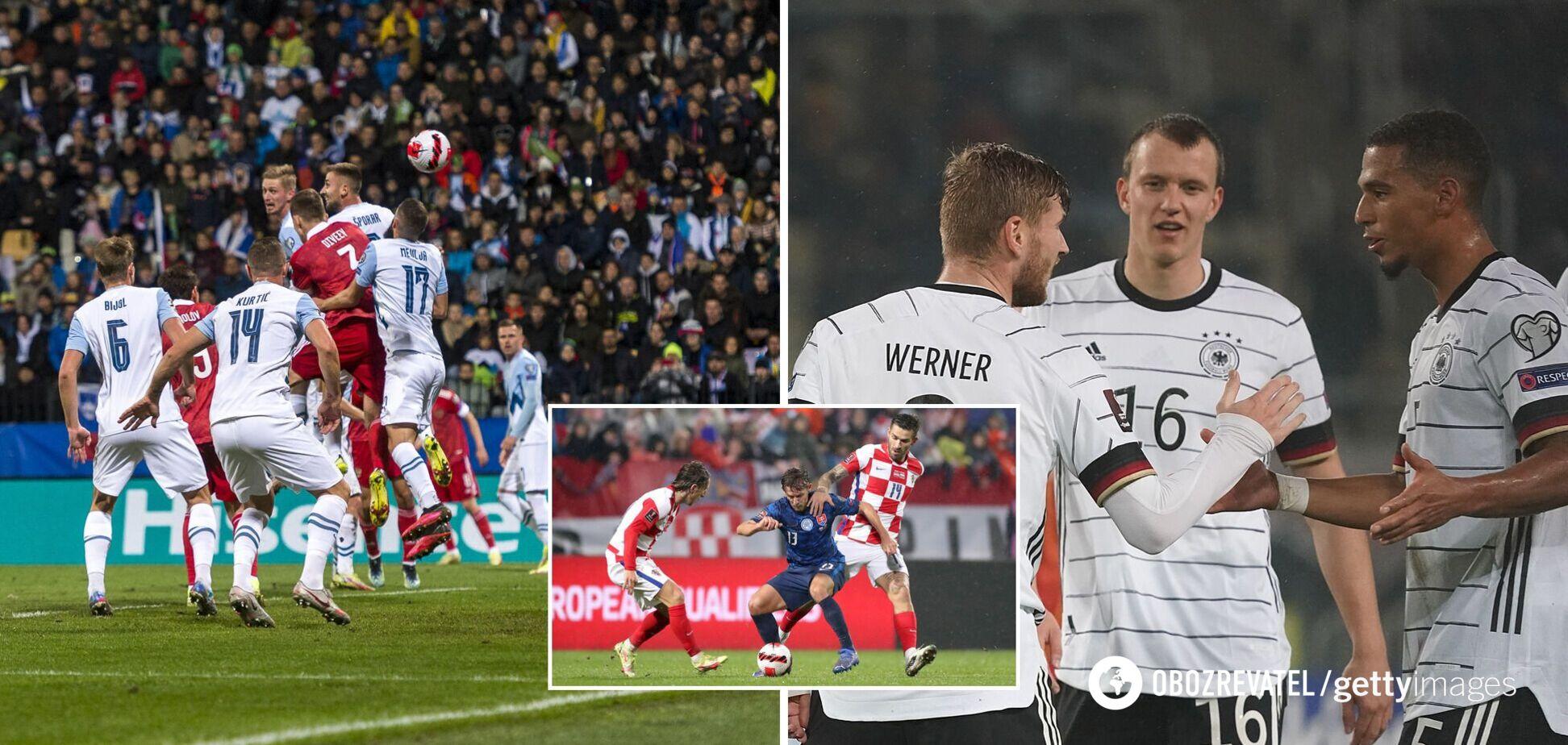 Німеччина виграла групу, Росія перемогла Словенію: результати матчів відбору на ЧС-2022 11 жовтня