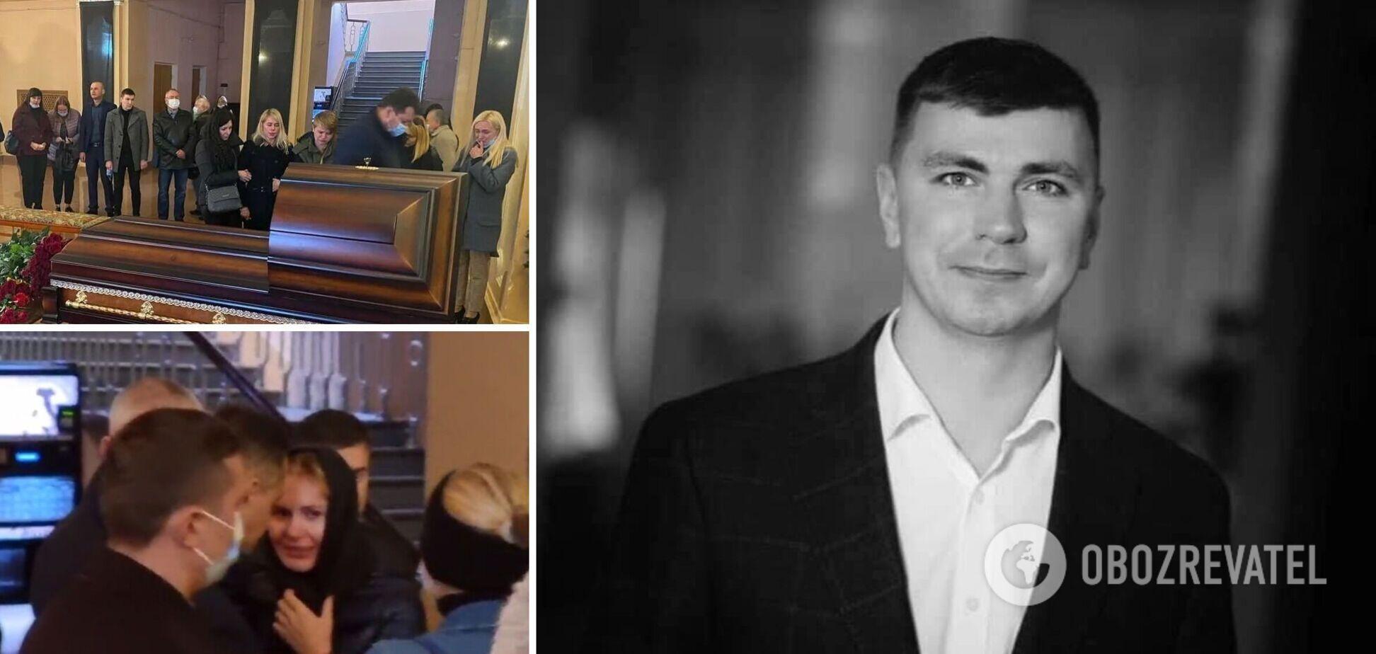 На похоронах Полякова трапився конфлікт між його дружиною і співмешканкою