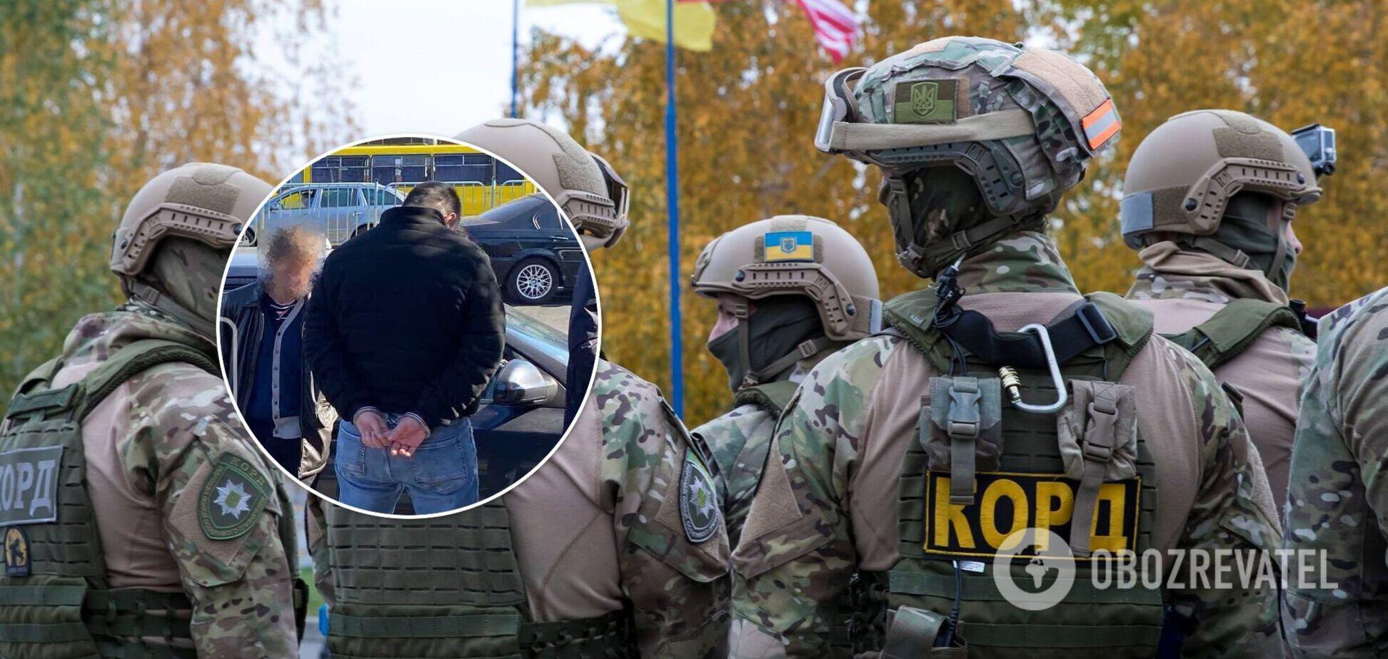 Злоумышленники 'работали' на территории Киева и области