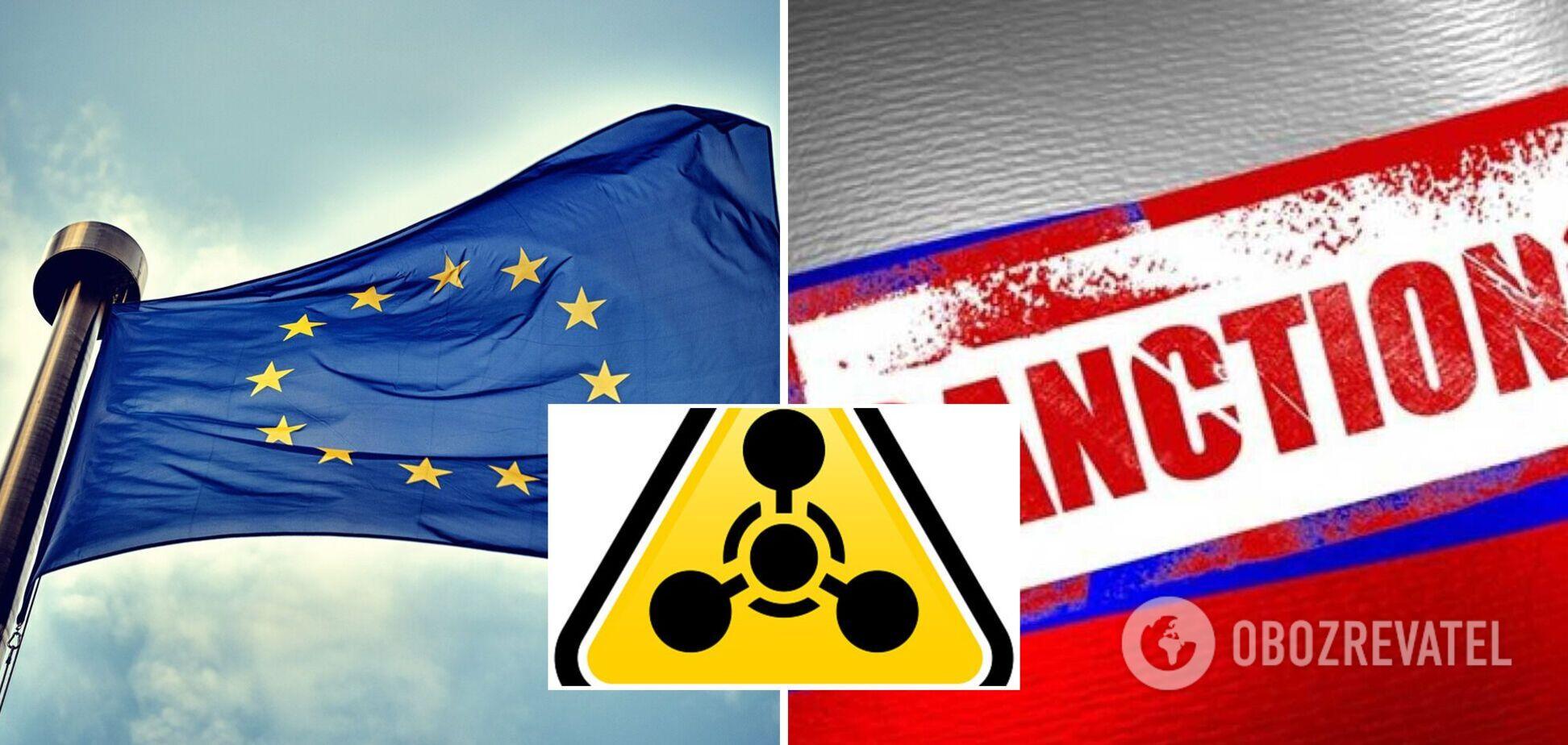 Євросоюз продовжив санкції проти Росії та Сирії за застосування хімічної зброї