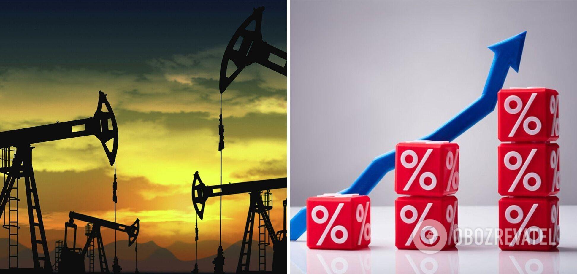 Дорогий газ спровокував зростання цін на нафту