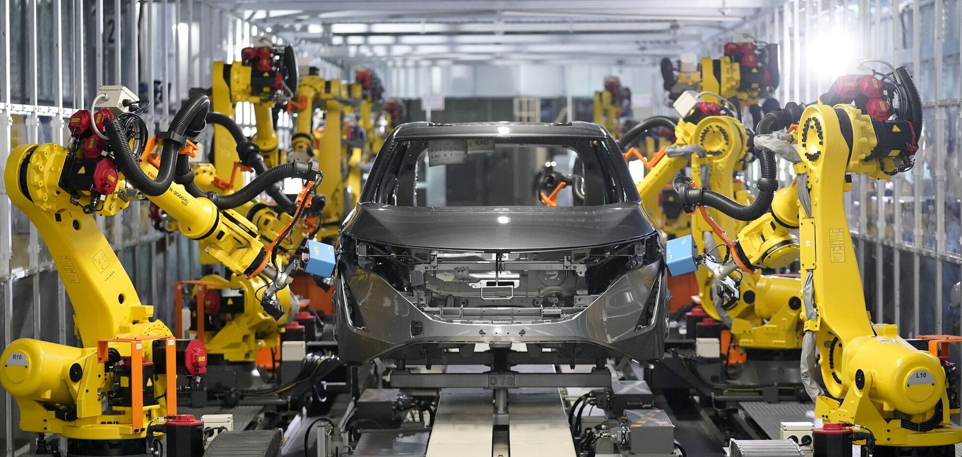 Компания Nissan представила 'Интеллектуальную фабрику'