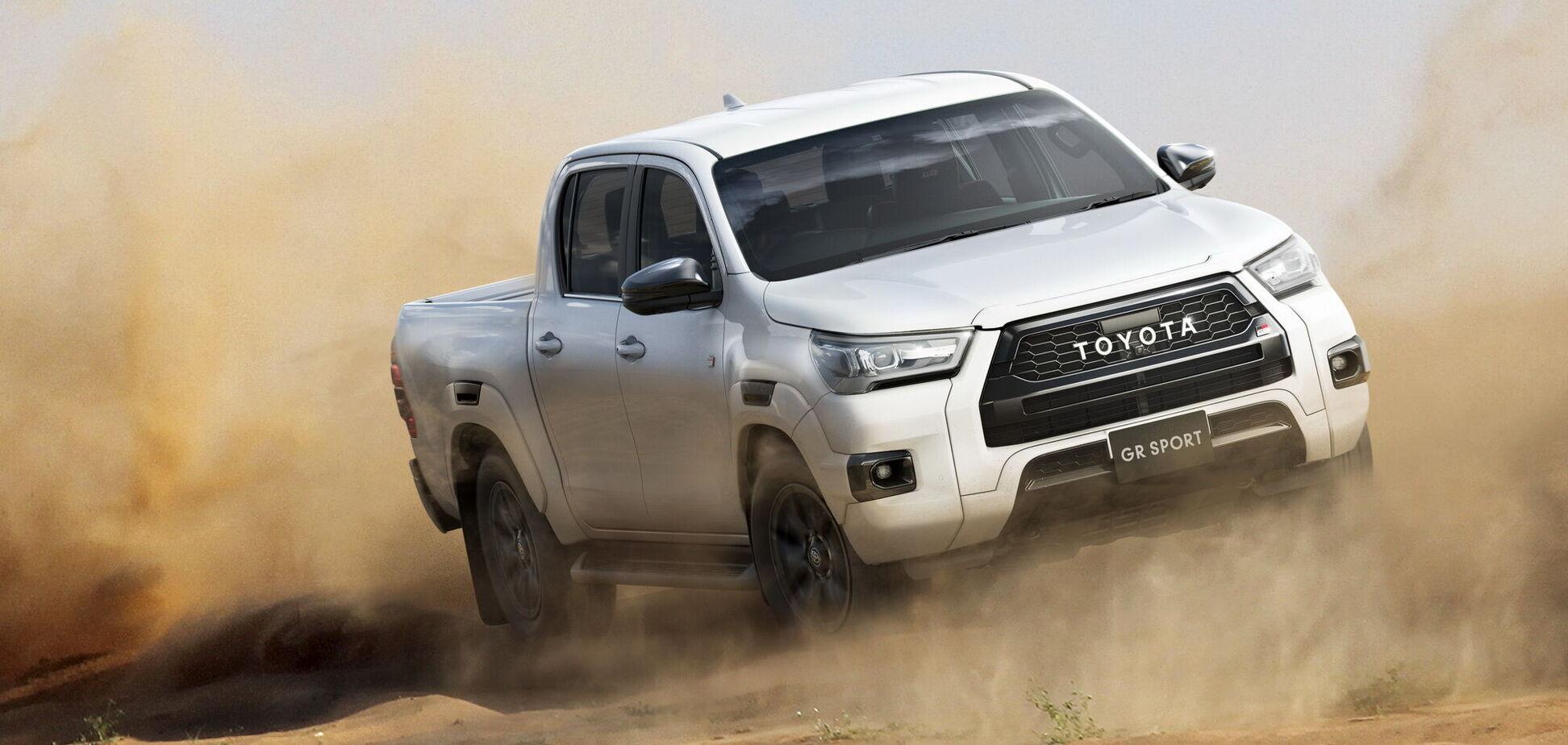 Toyota показала 'прокачаний' пікап Hilux GR Sport