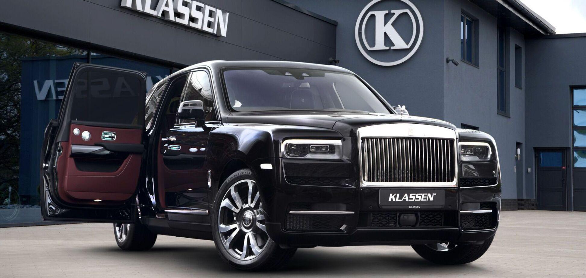 Rolls-Royce Cullinan перетворили на броньовик