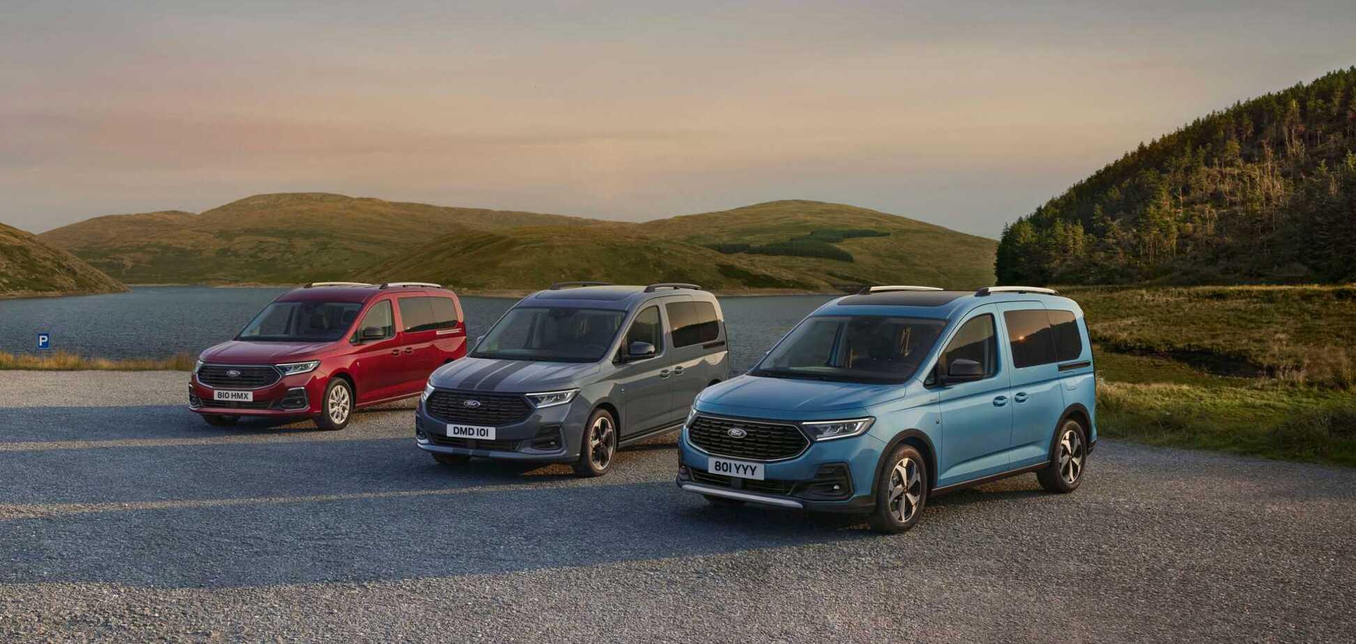 Ford представив нове покоління Tourneo Connect