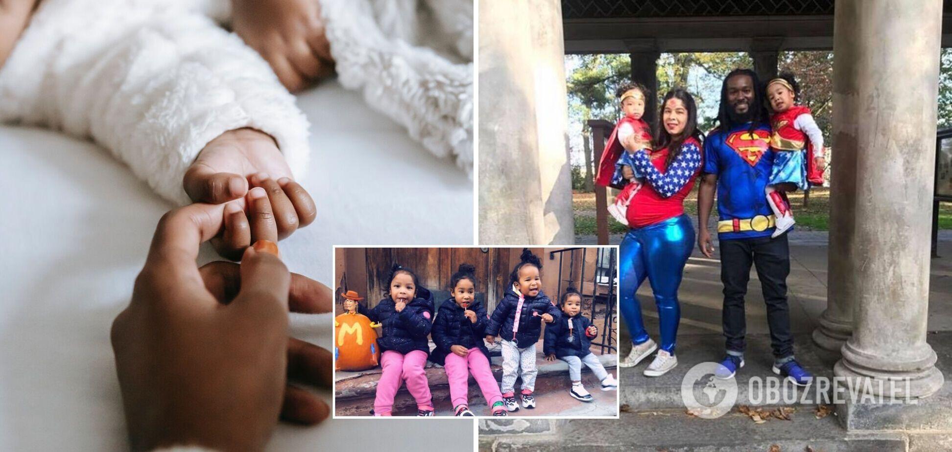 В США женщина родила три пары близнецов за пять лет