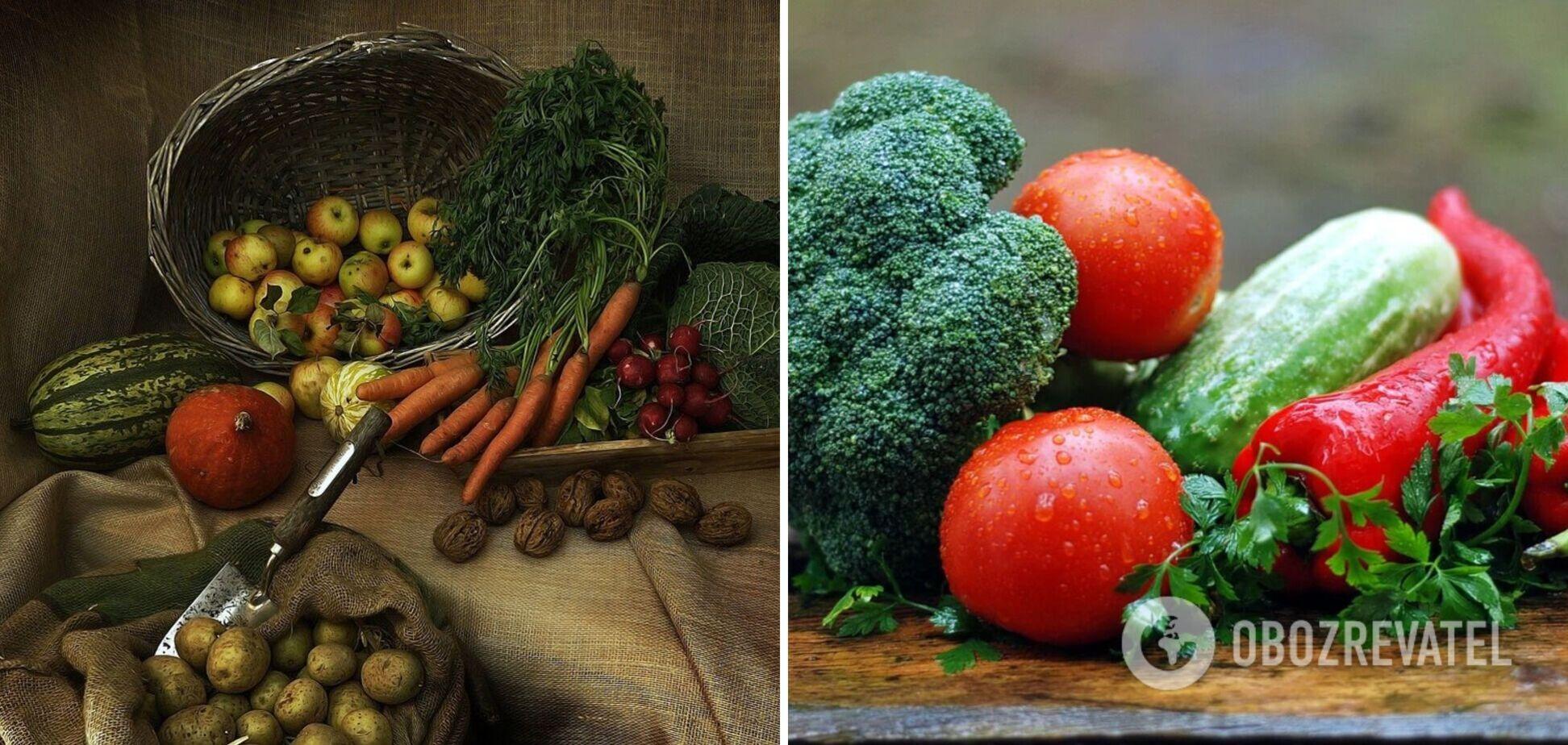 Як не зіпсувати овочі: слушні поради