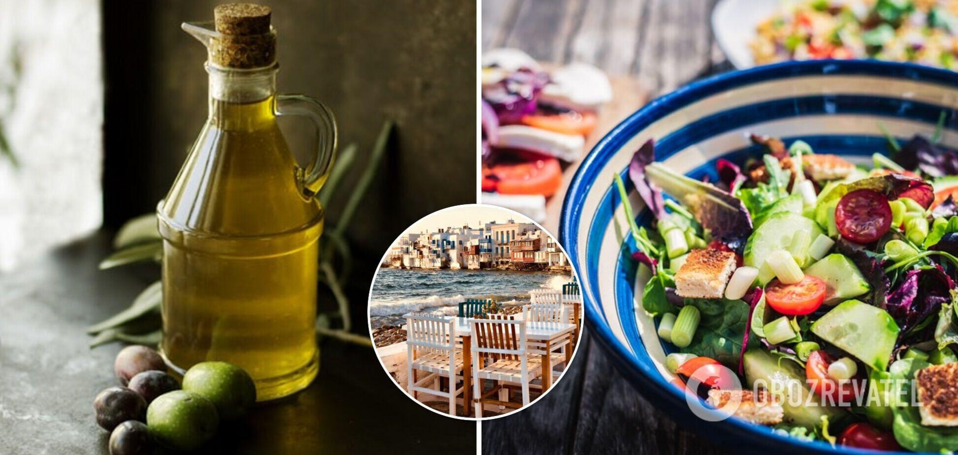 Середземноморська дієта може знизити ризик передчасної смерті на 25%: результати дослідження