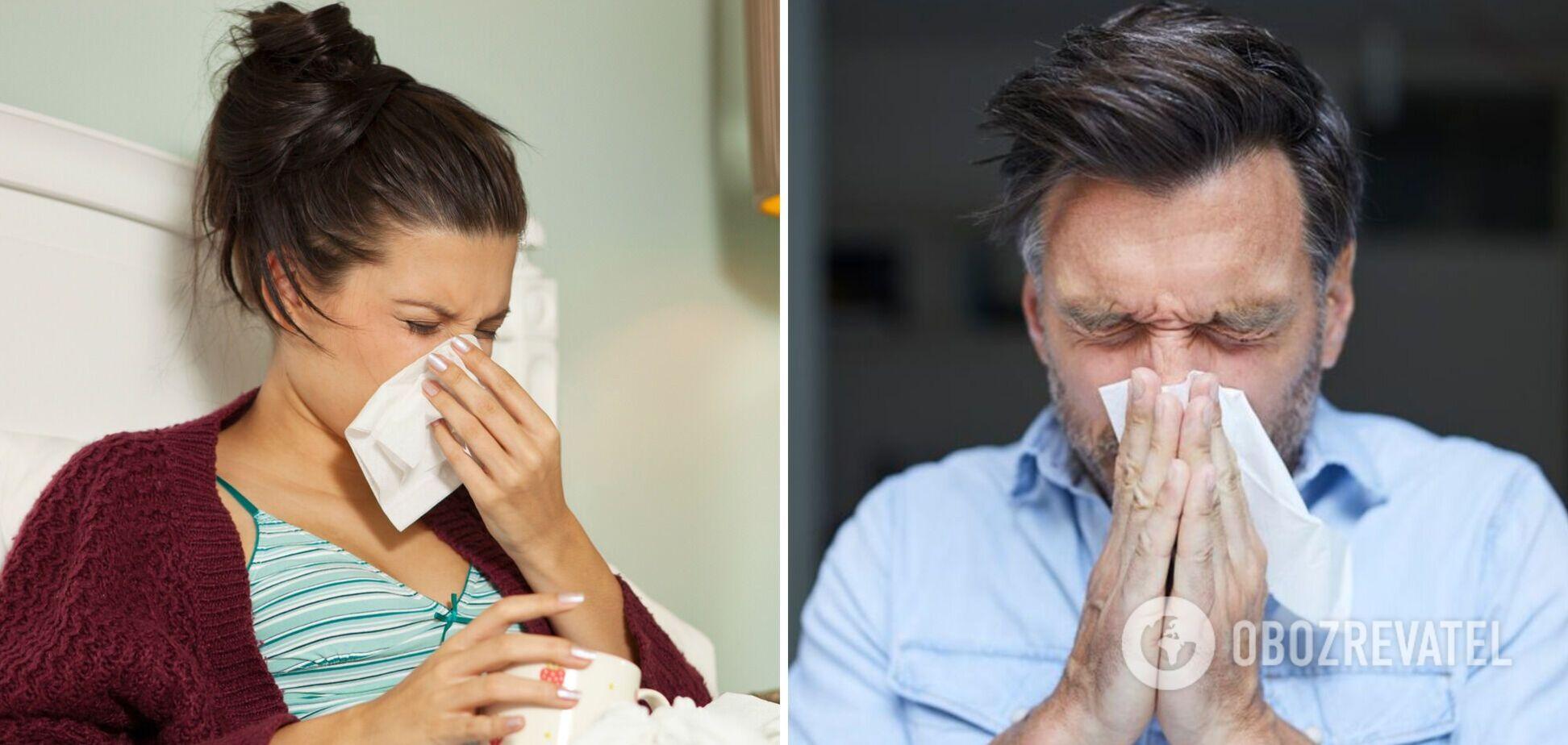 Британці стали хворіти на 'найсильнішу застуду'