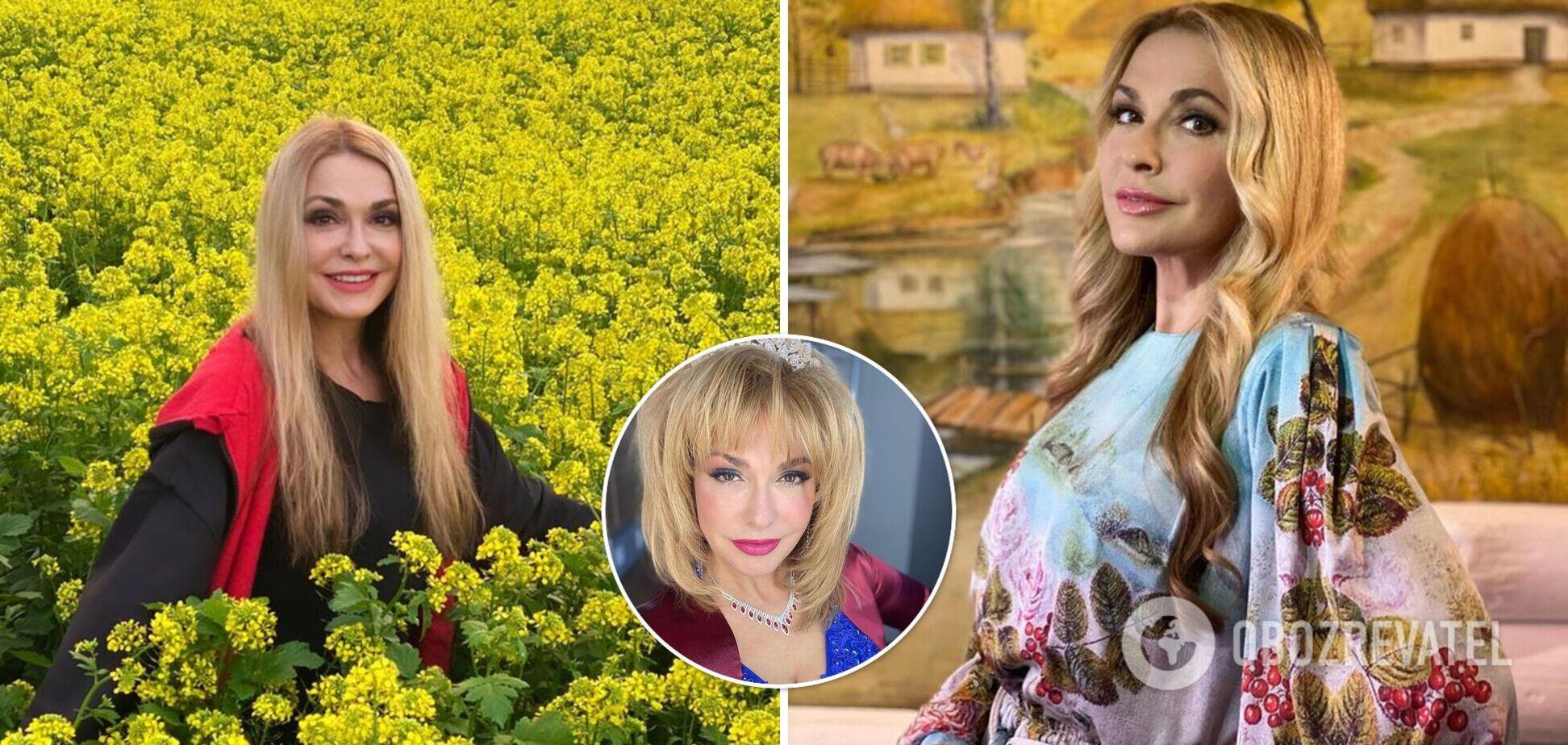 Рожева помада і сині тіні: Сумська нарядилася, як продавчиня з 90-х. Фото