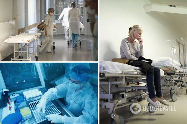 В больницах будет больше 50 тысяч пациентов: в СНБО назвали дату пика COVID-19