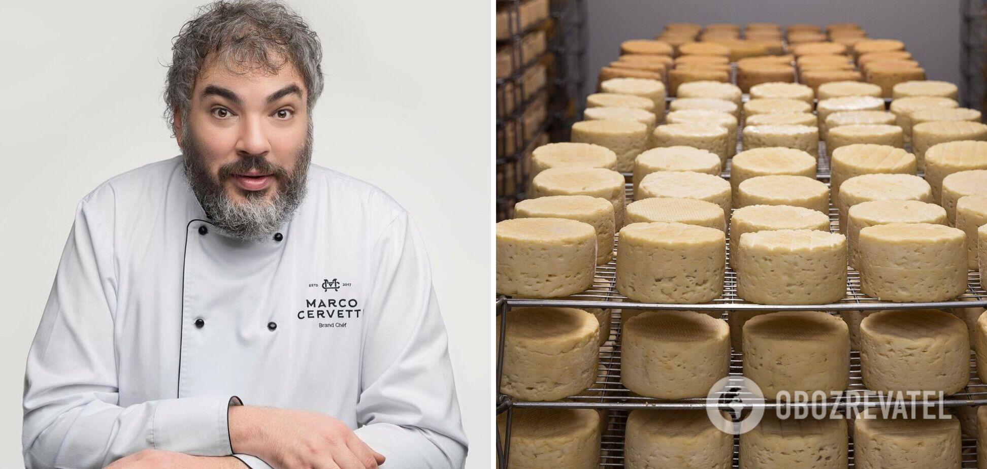 Марко Черветтті поділився рецептом домашнього сиру