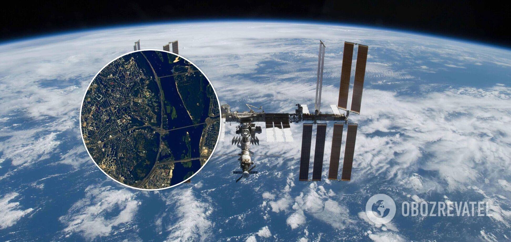Фото сделаны на Международной космической станции