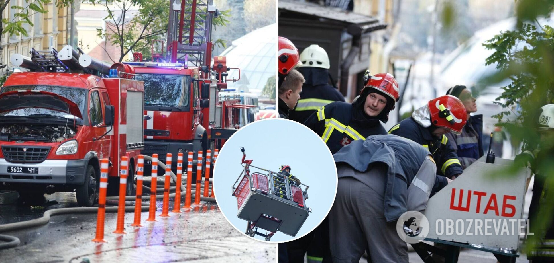 Для тушения пожара привлекли 10 единиц спецтехники и 39 спасателей