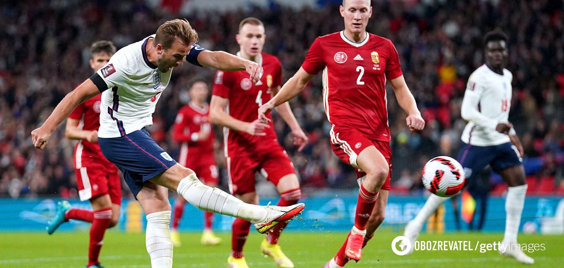 Англія зіграла з Угорщиною в нічию