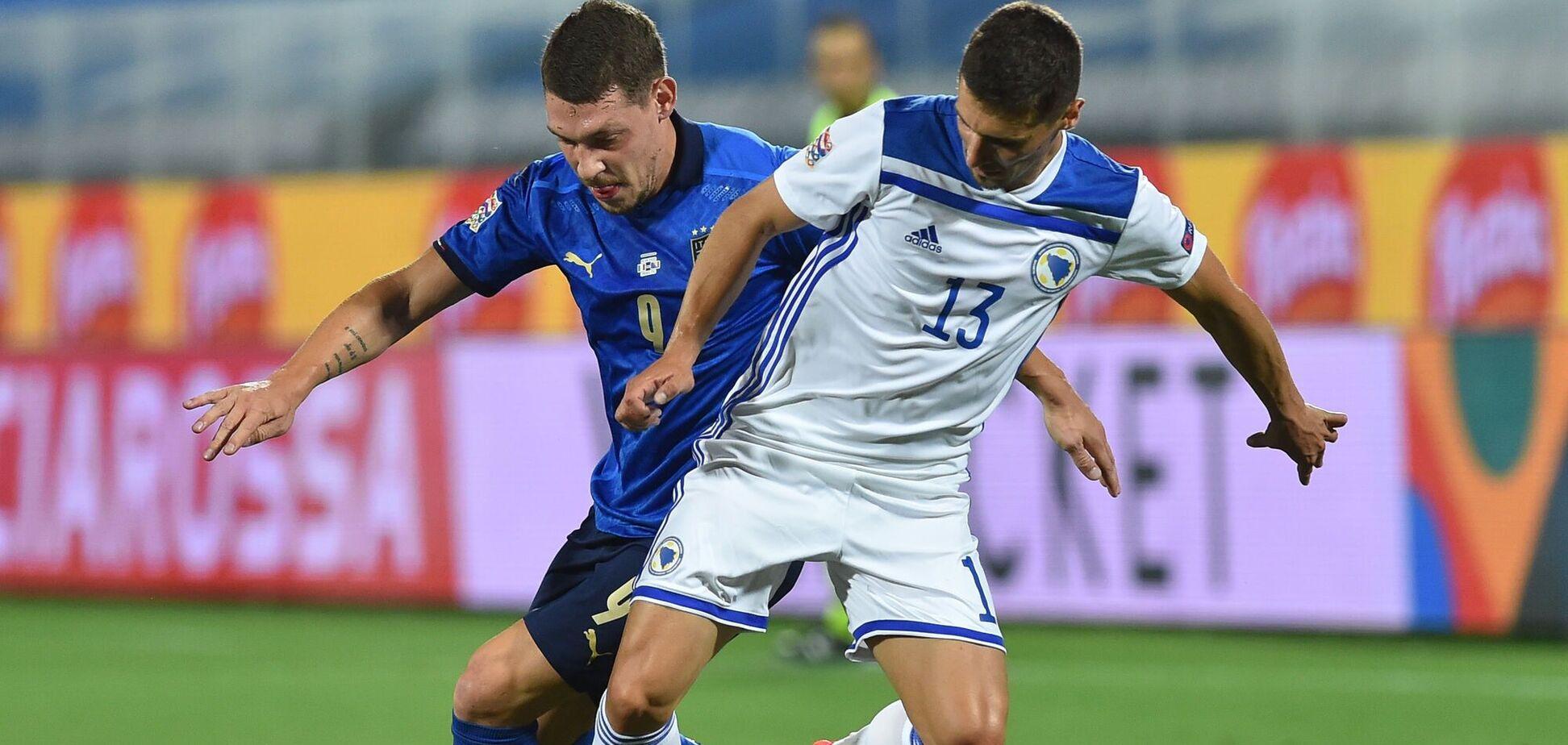 Перед матчем з Україною вибув основний футболіст збірної Боснії