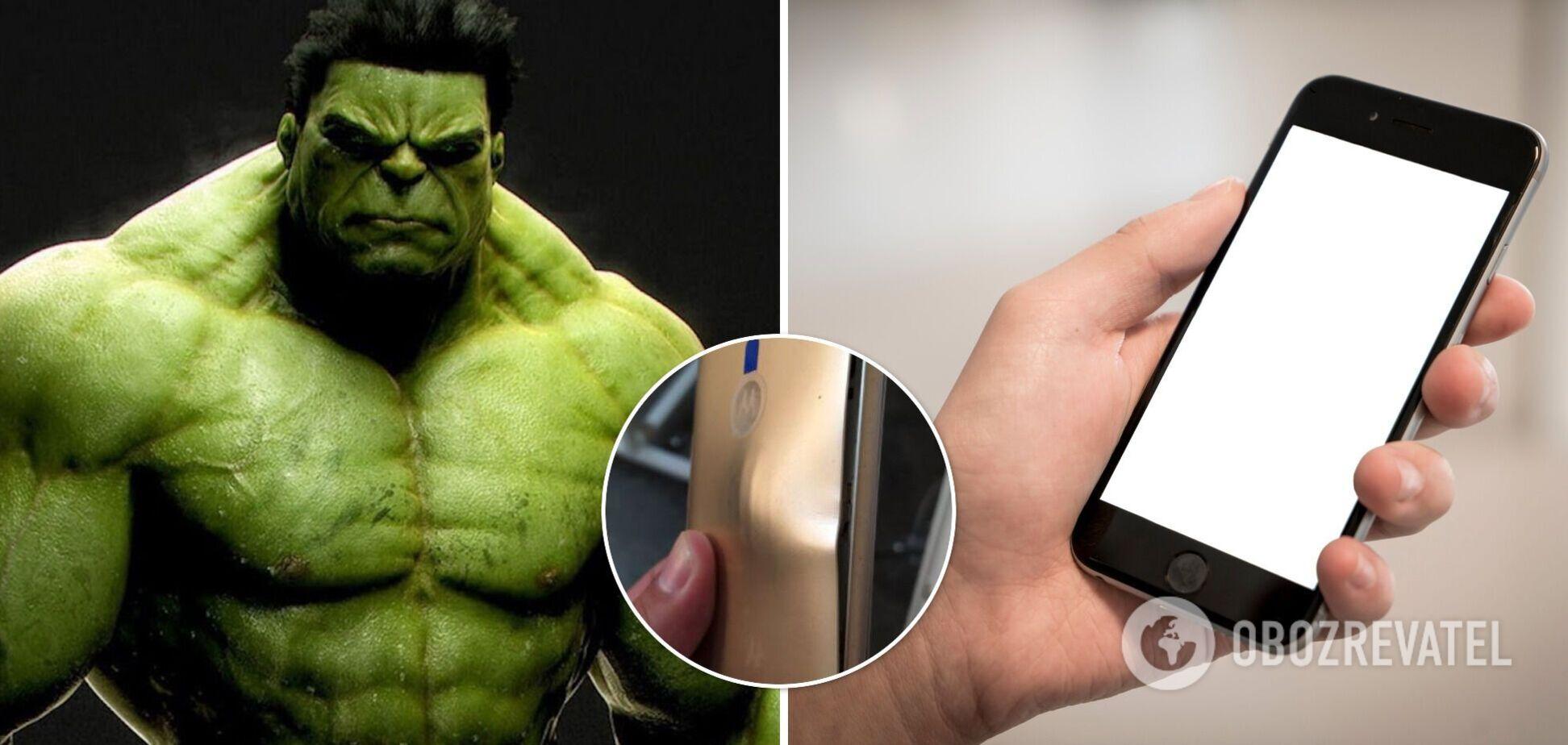 Телефон в чохлі з Халком врятував чоловікові життя