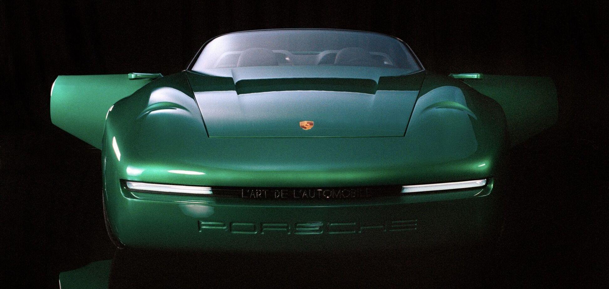 Porsche показал уникальный арт-кар в стиле ретро
