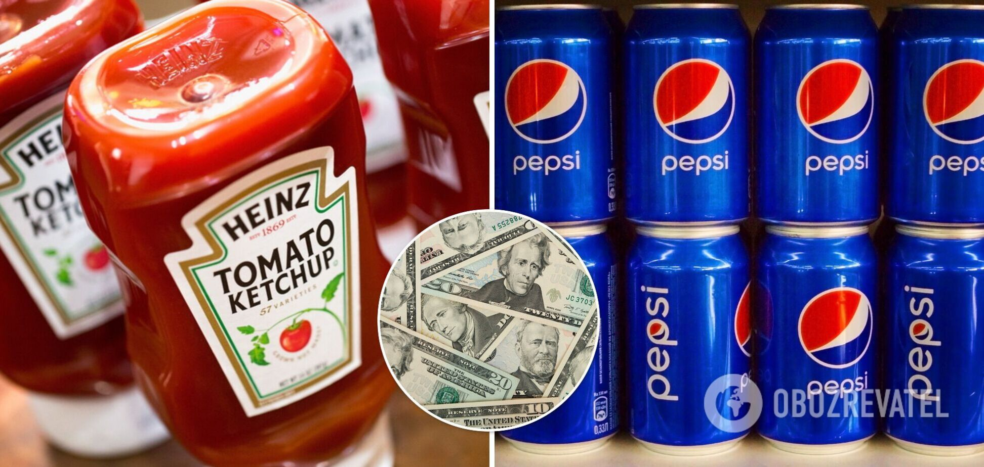 У Kraft Heinz і PepsiCo заявили про майбутнє підвищення цін