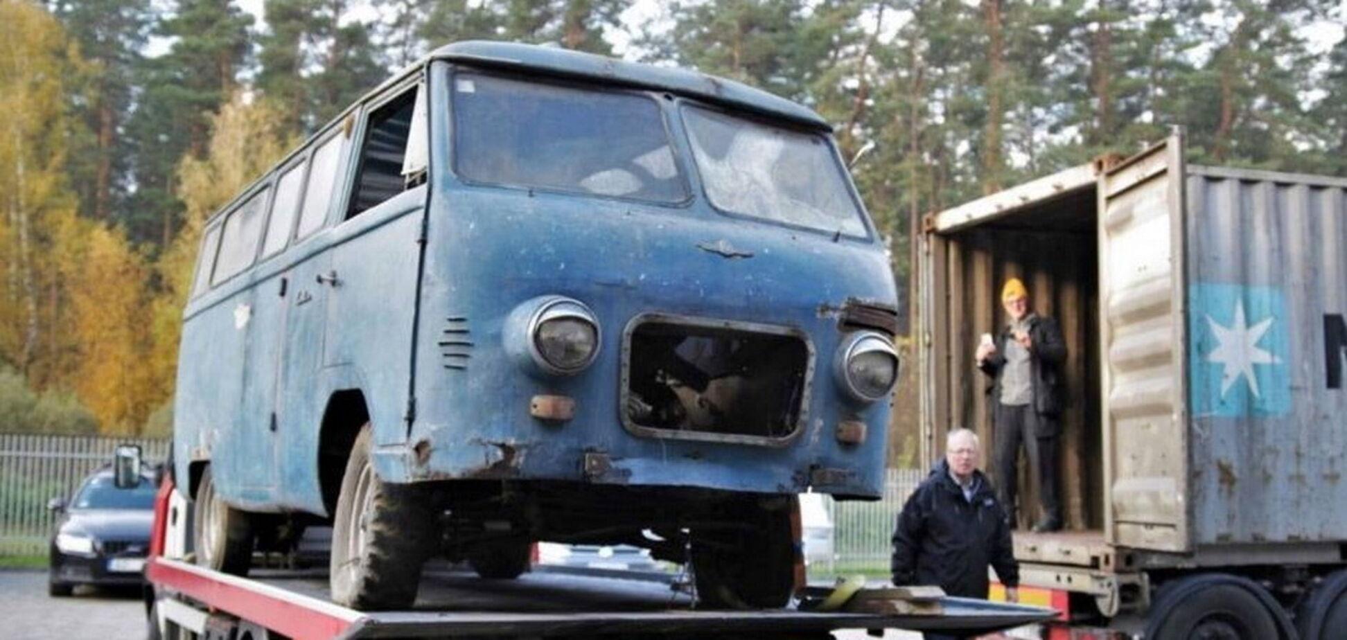 РАФ-977В, що вважався втраченим, повернувся на батьківщину