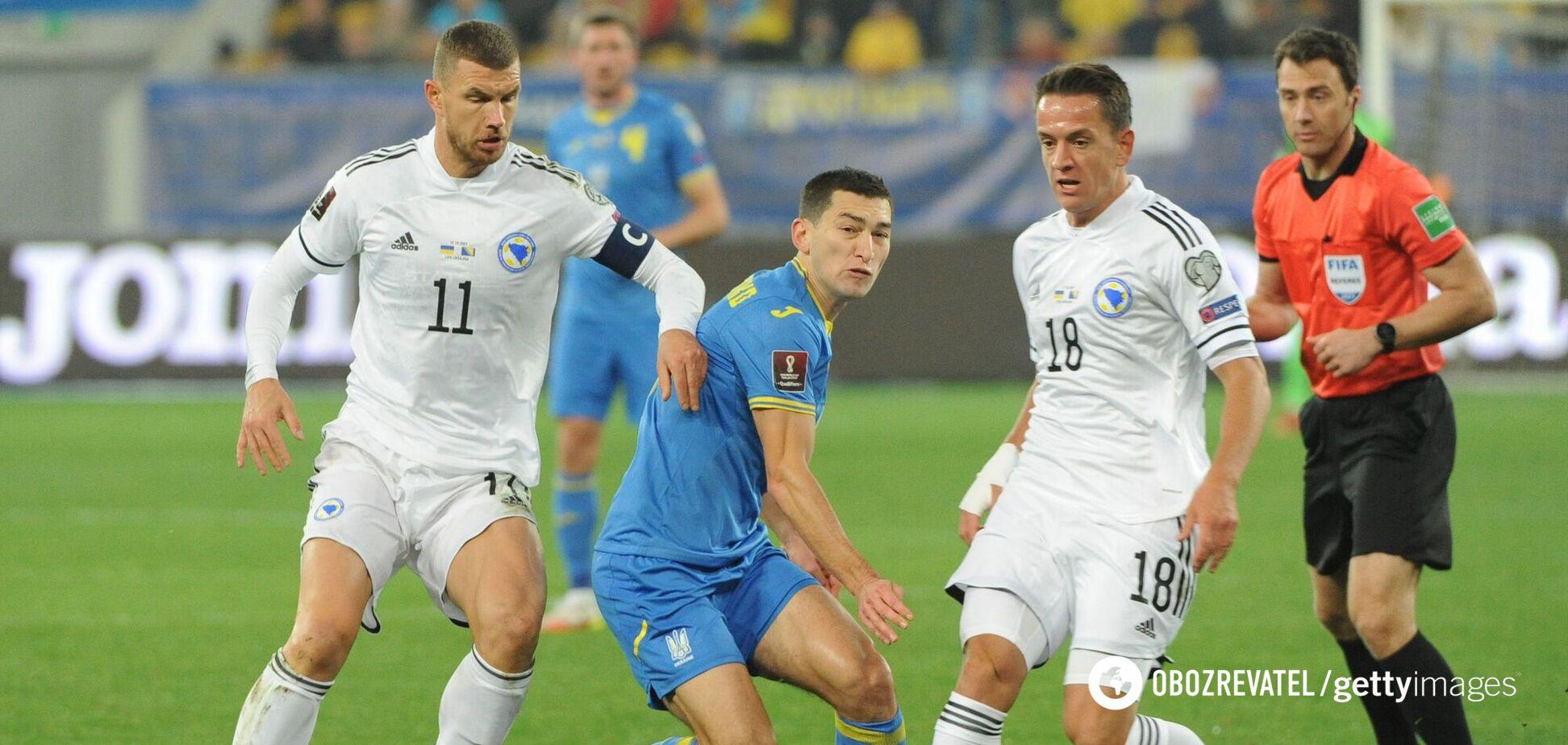 'Ми домінували над українцями після пропущеного гола': Едін Джеко – про матч відбору ЧС-2022