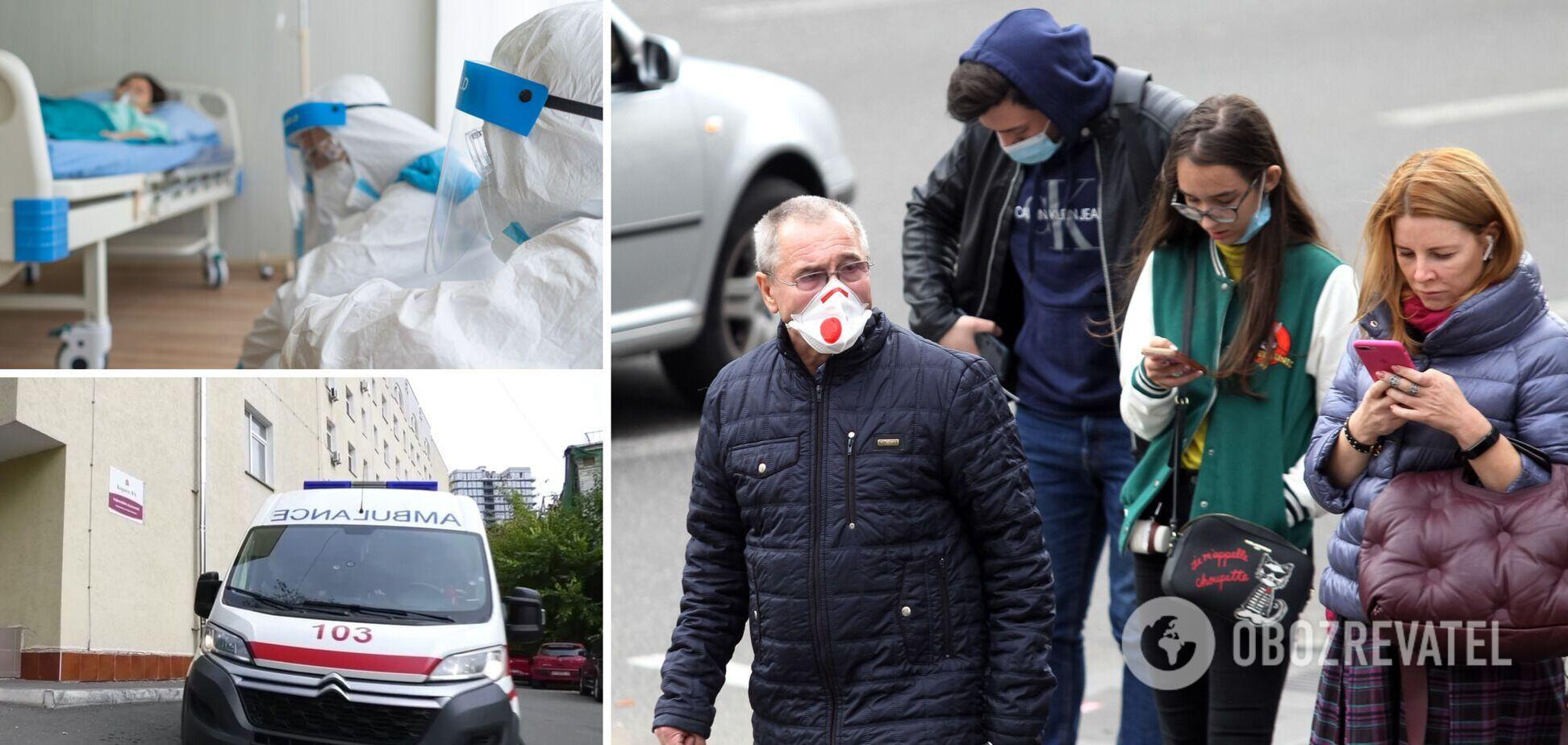 В Киеве стремительно ухудшается ситуация с коронавирусом: 95% госпитализированных не были вакцинированы