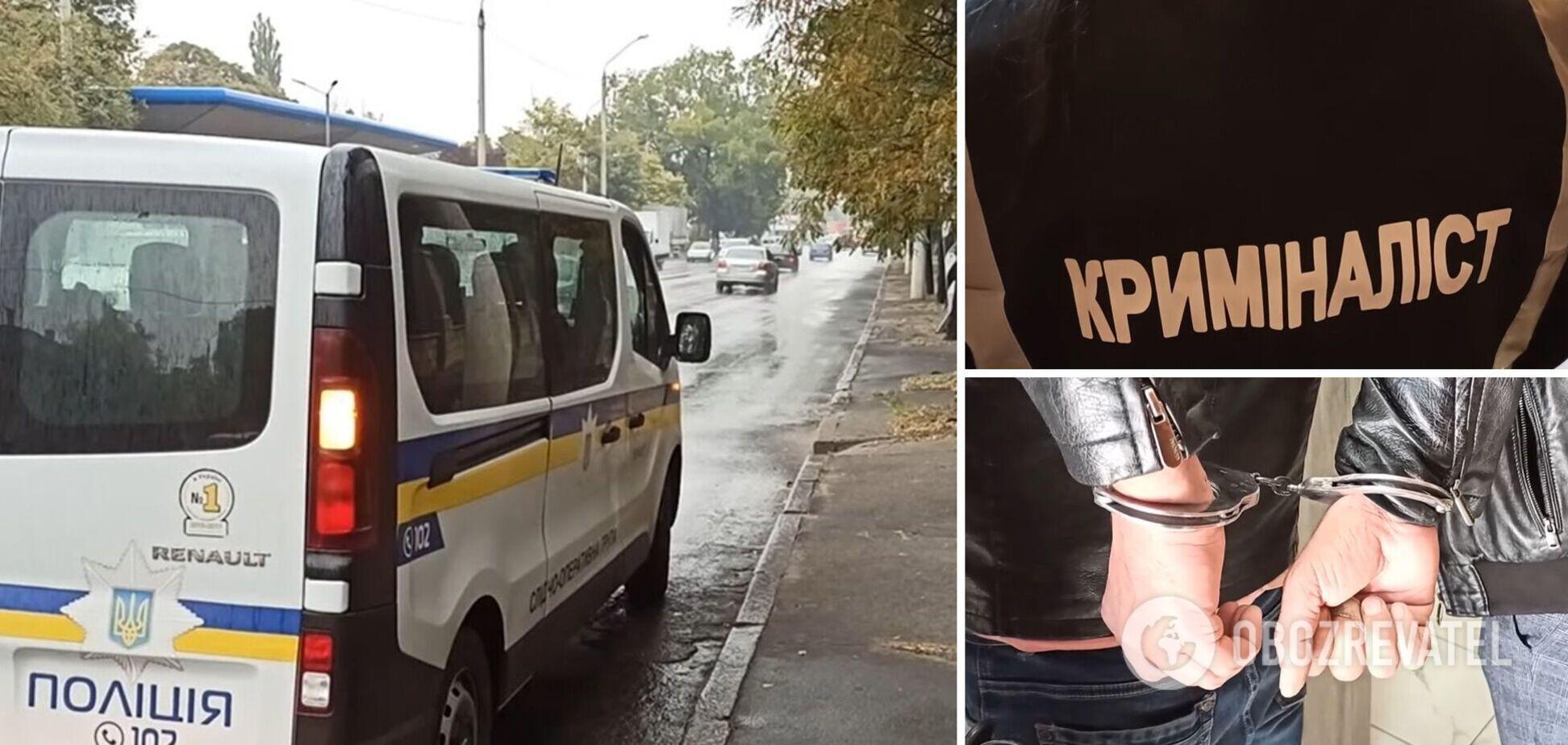 В Одессе иностранец ранил ножом бывшую и ее коллегу: пострадавших госпитализировали. Видео