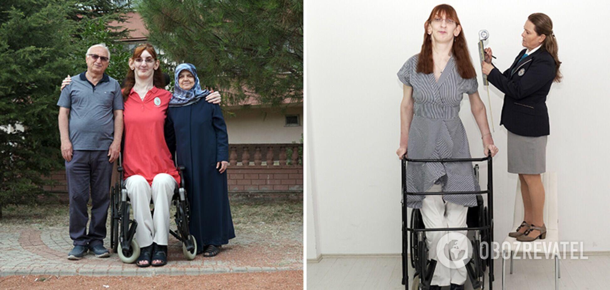 24-річну туркеню визнали найвищою жінкою на планеті. Фото і відео