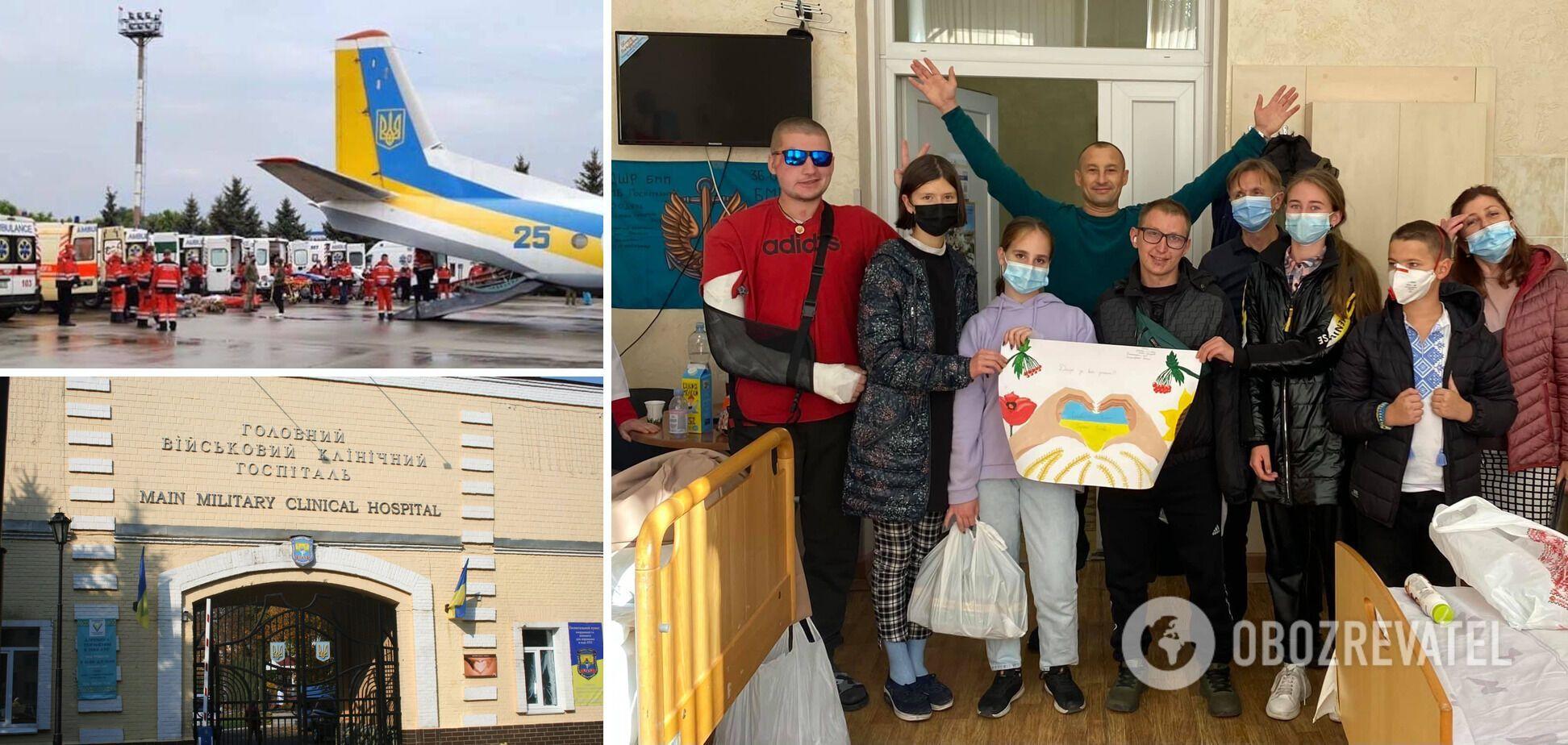 Хотите поздравить защитников Украины? Приходите завтра в госпиталь