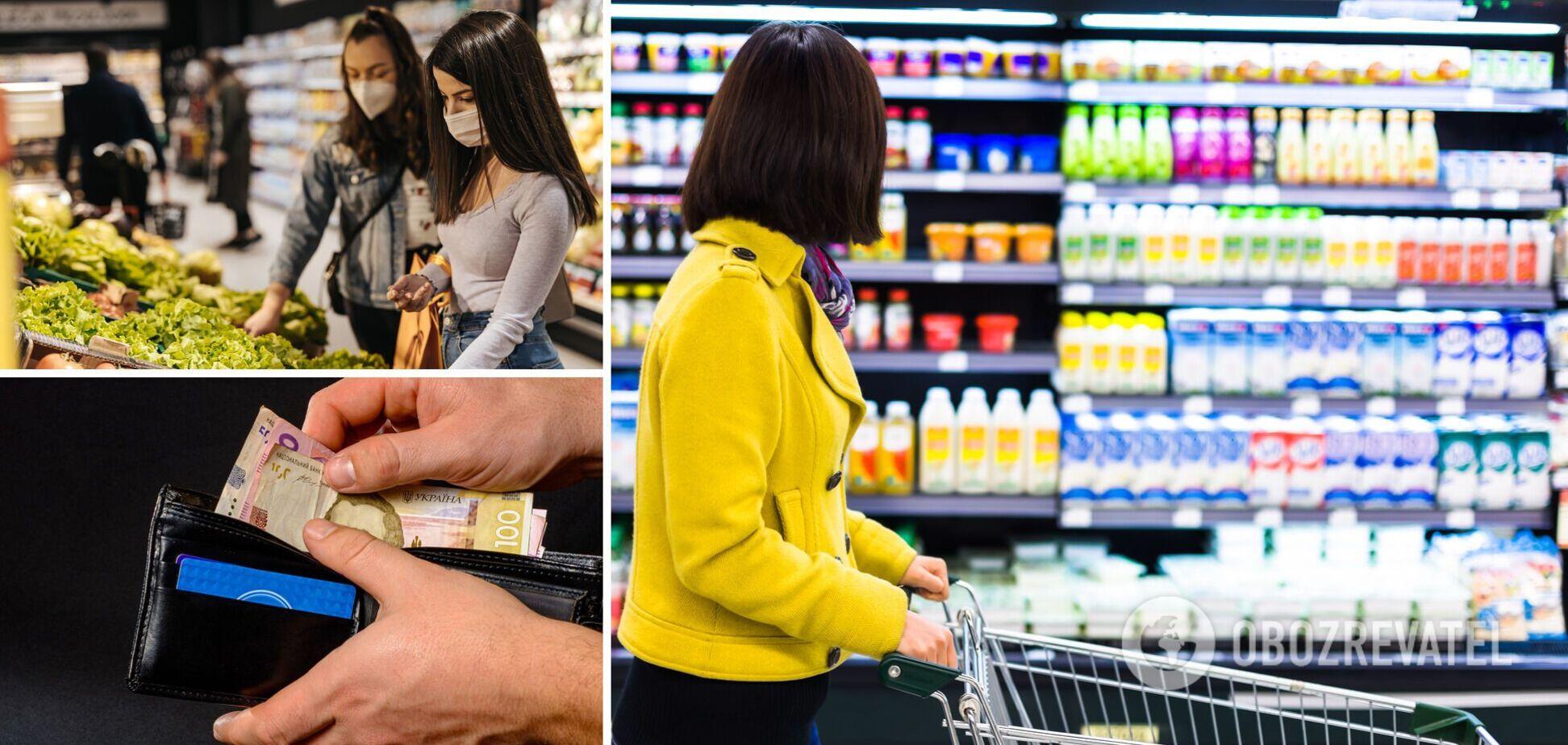 В Украине продолжают расти цены на продукты питания