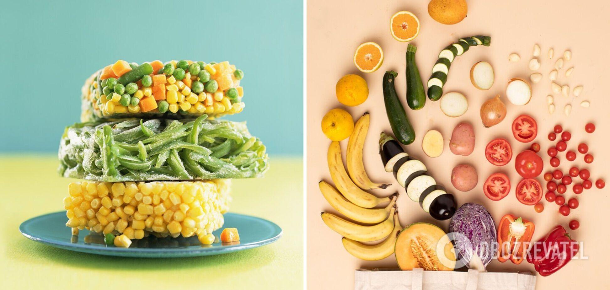 Лайфхаки заморозки: как не убить питательные вещества в овощах