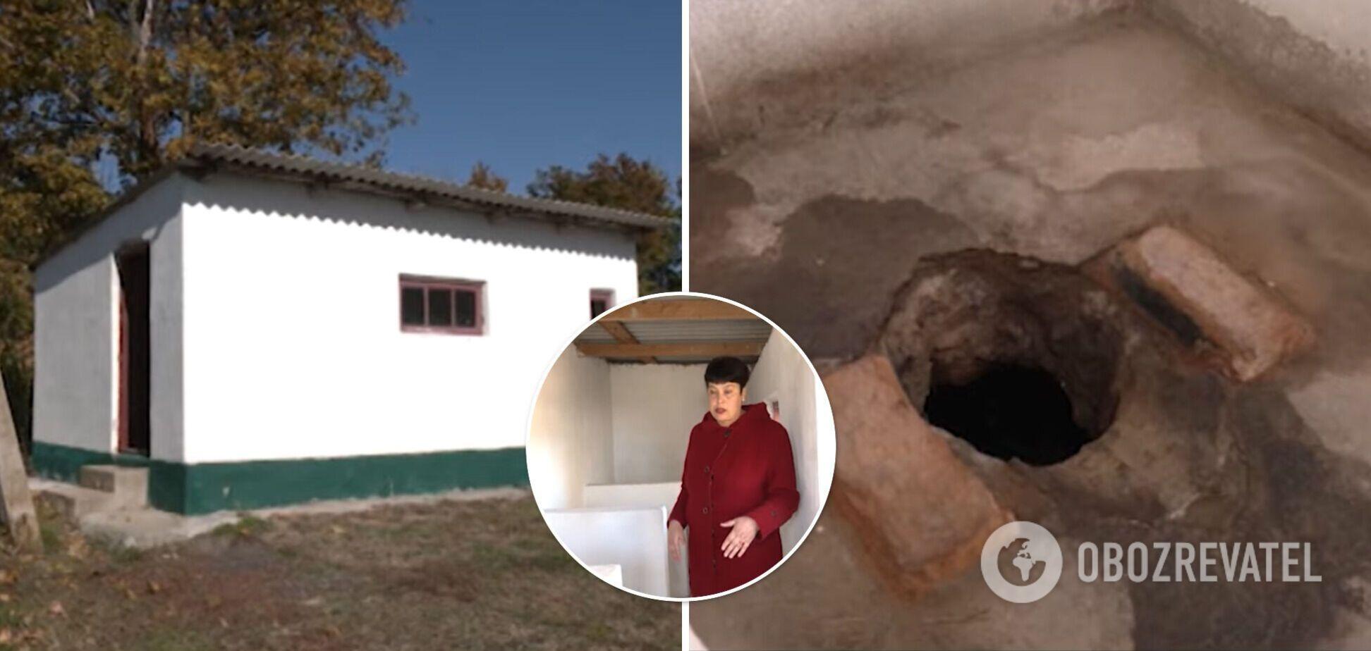 За понад 55 років роботи в школі не зробили теплий туалет