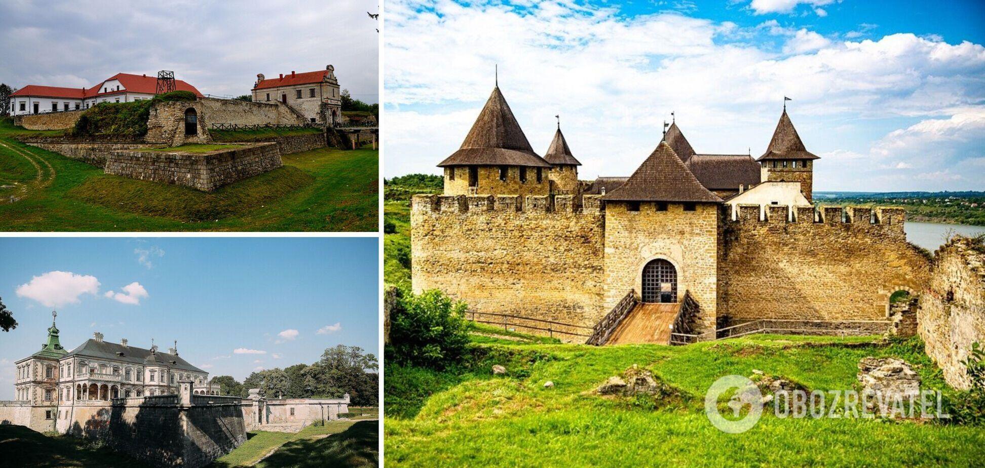 5 самых красивых крепостей и замков Украины, которые сохранились в хорошем состоянии