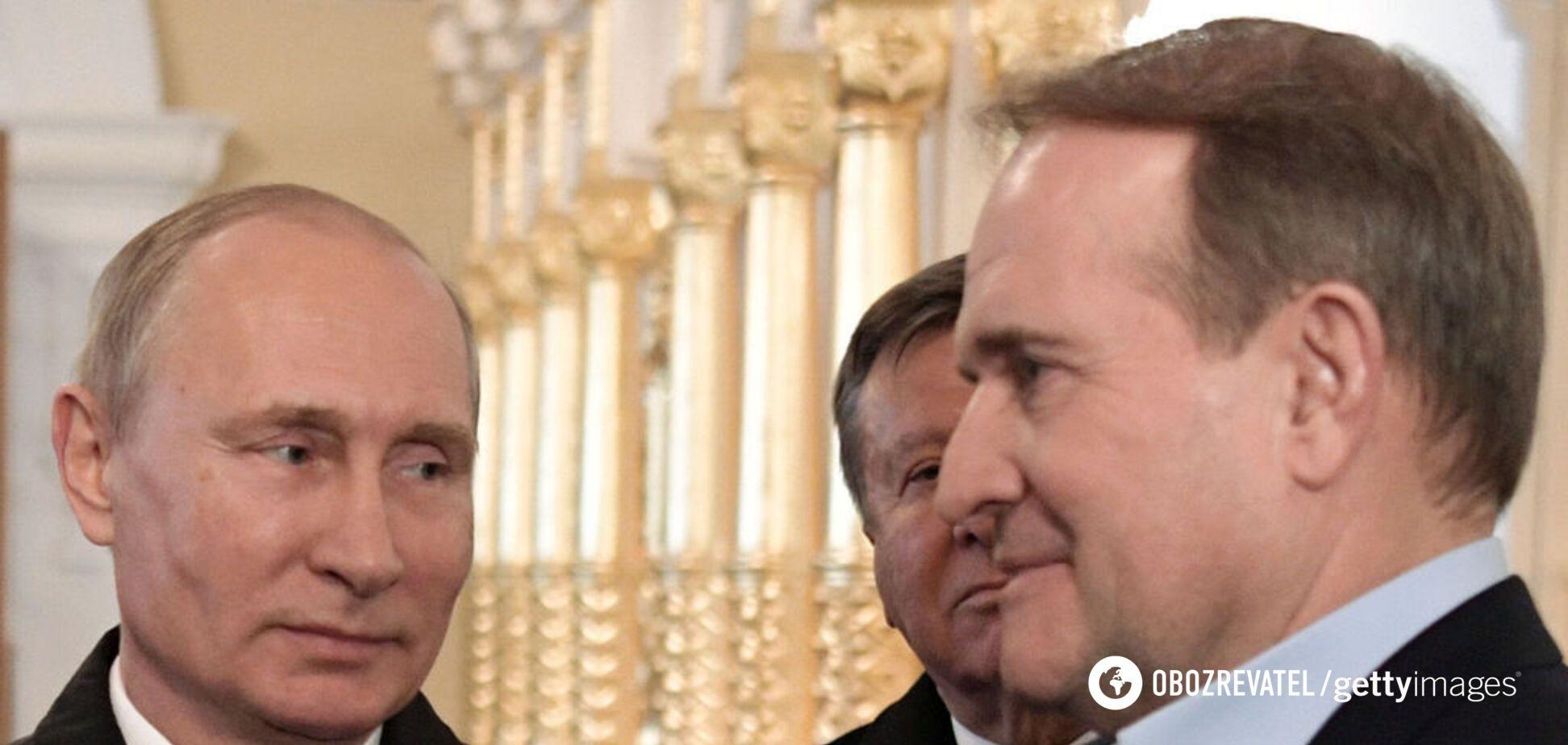 У Путіна заявили, що не допоможуть Медведчуку: він громадянин України