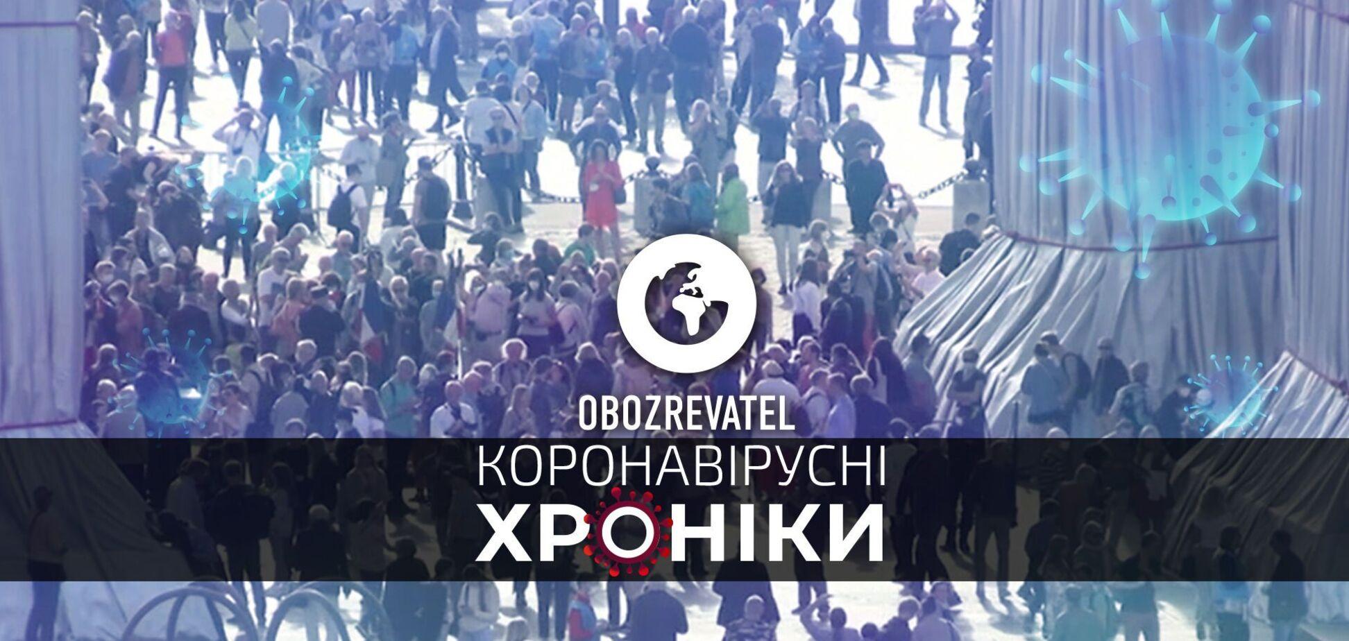 Признание украинских сертификатов в Великобритании и запрет принудительной прививки в американском Техасе – коронавирусные хроники