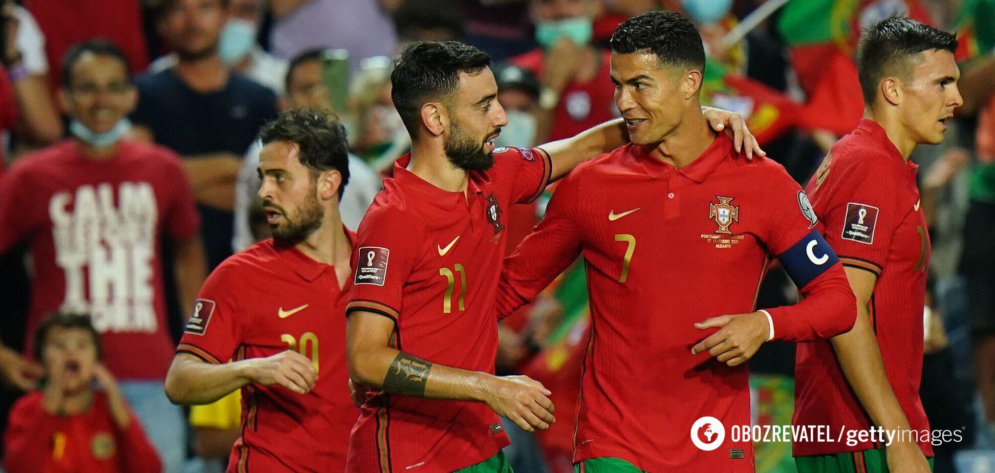 Роналду зробив хет-трик за збірну Португалії і оновив світовий гольовий рекорд. Відео
