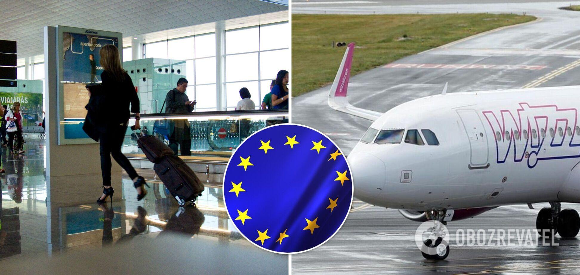 Авіакомпанія Wizz Air запустить з України 26 нових рейсів