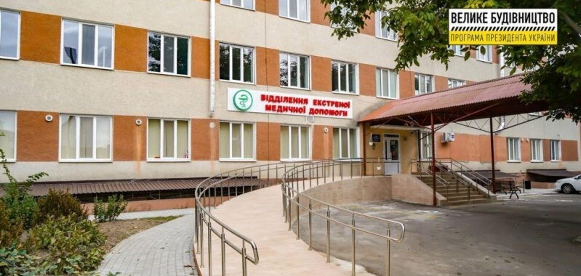 В Березовке обновили приемное отделение в центральной районной больнице