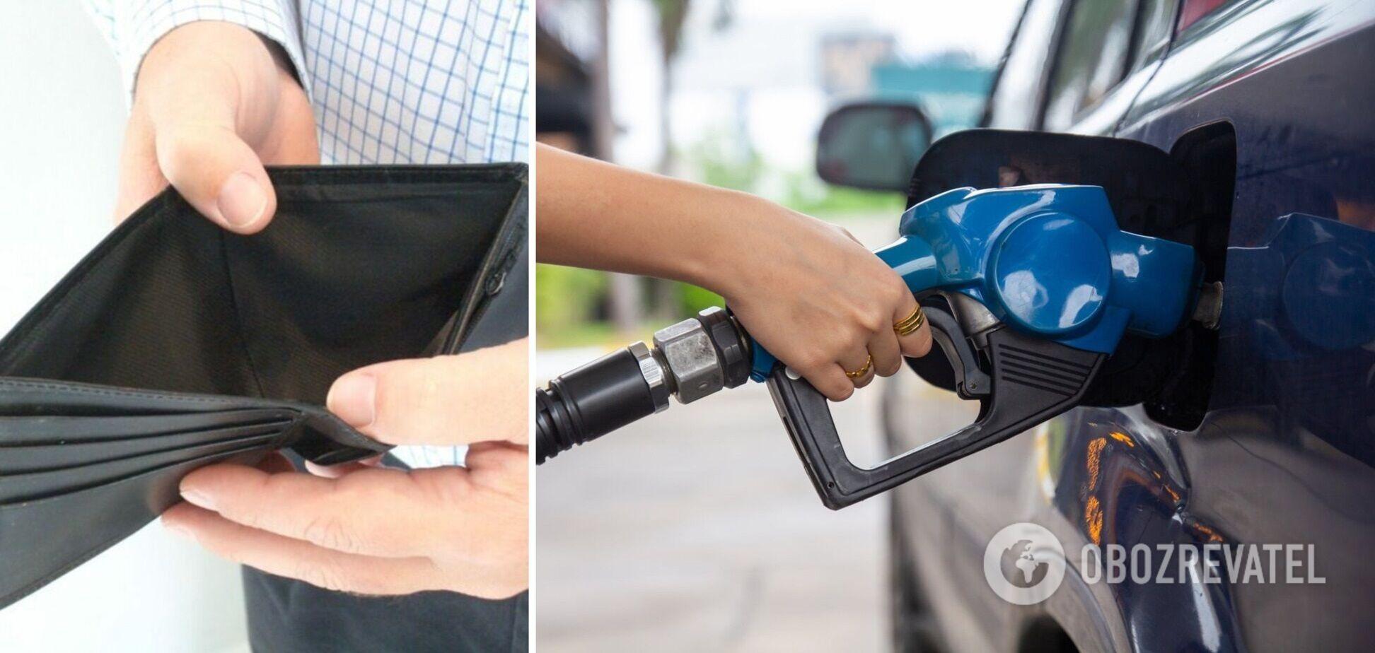 В Україні зросли ціни на бензин та дизпаливо