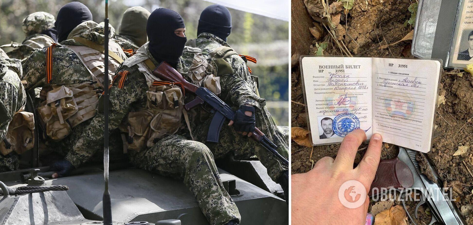 На Донбасі затримали бойовика з паспортом РФ: в Україні його підозрюють у вбивстві. Фото