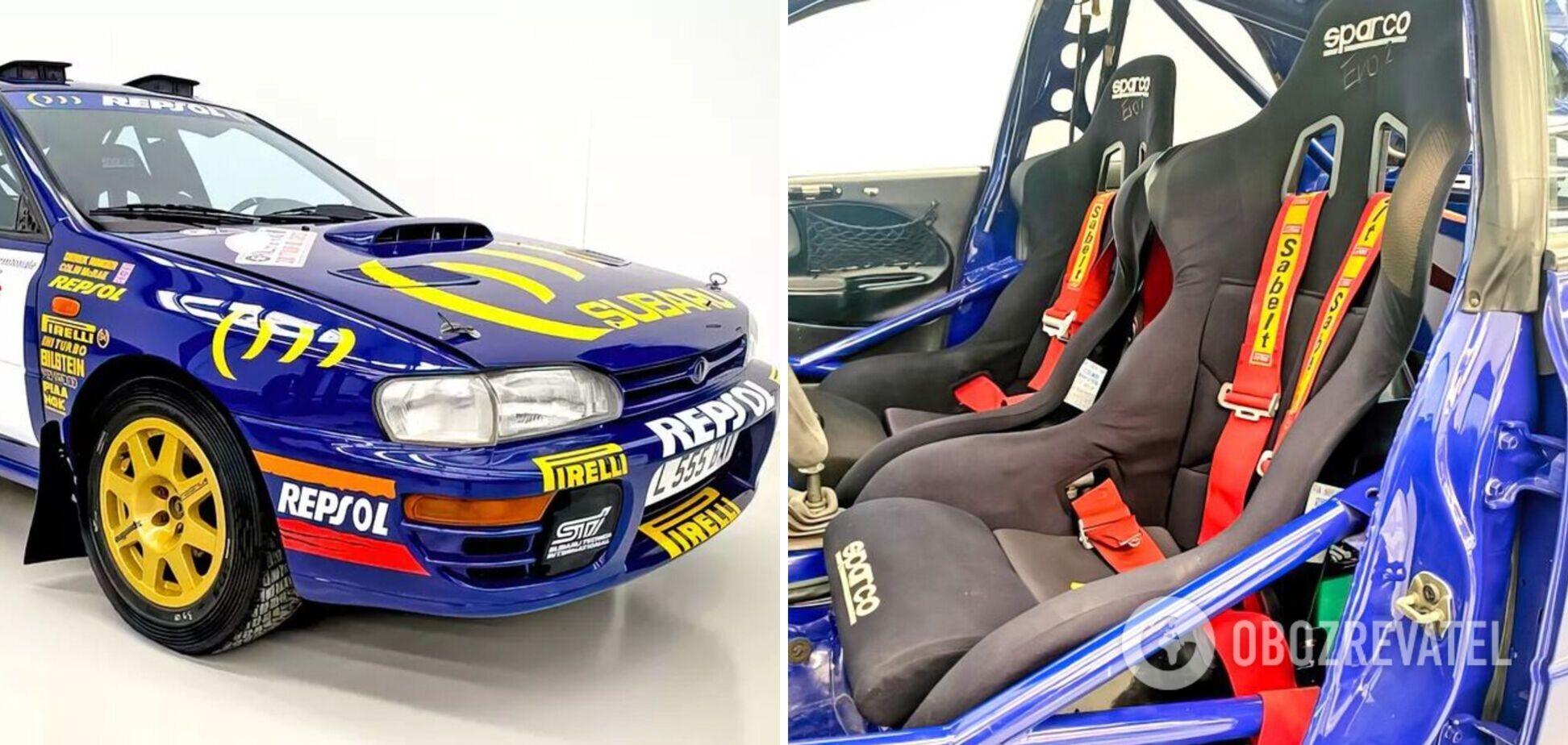 Prodrive Subaru Impreza збереглася в первісній комплектації