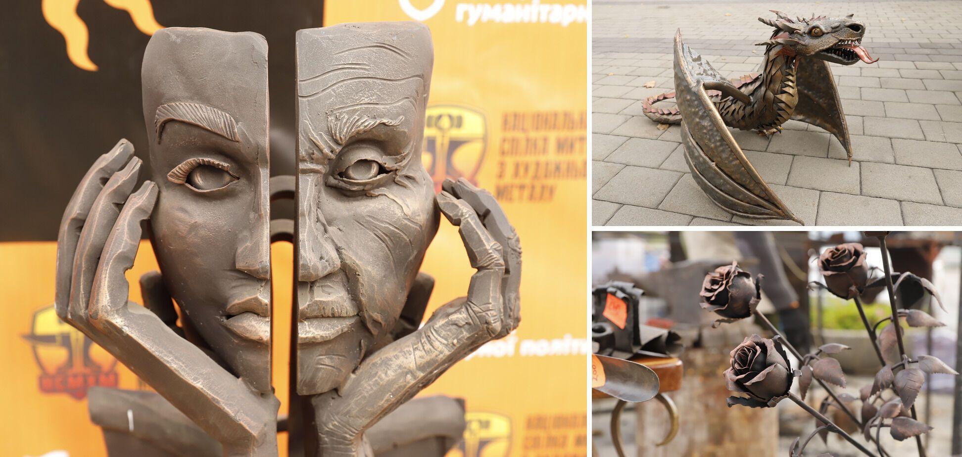 У Дніпрі стартував фестиваль ковальського мистецтва 'Кoval fest'