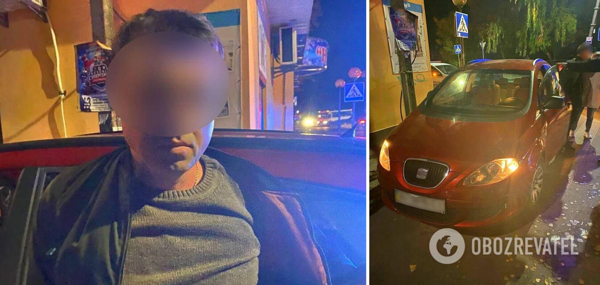 Под Киевом водитель сбил 12-летнюю девочку и скрылся: его задержали по горячим следам. Фото