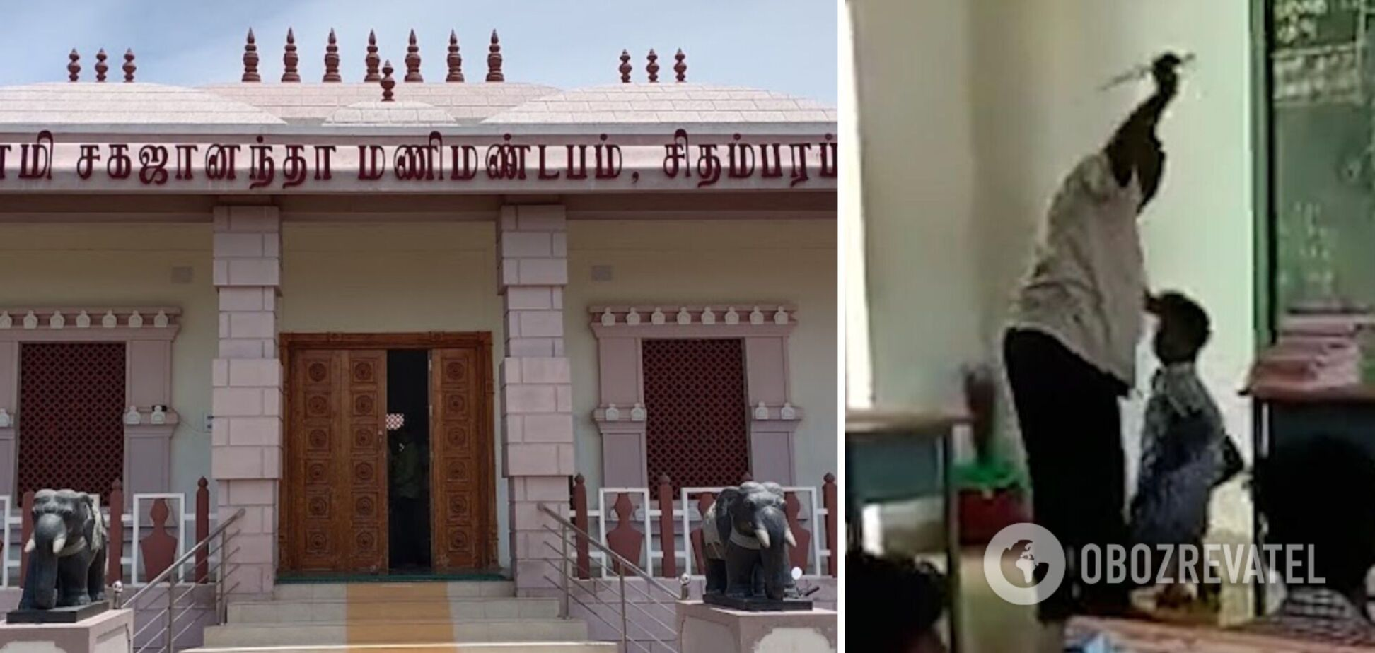 В Індії вчитель побив учнів за прогули